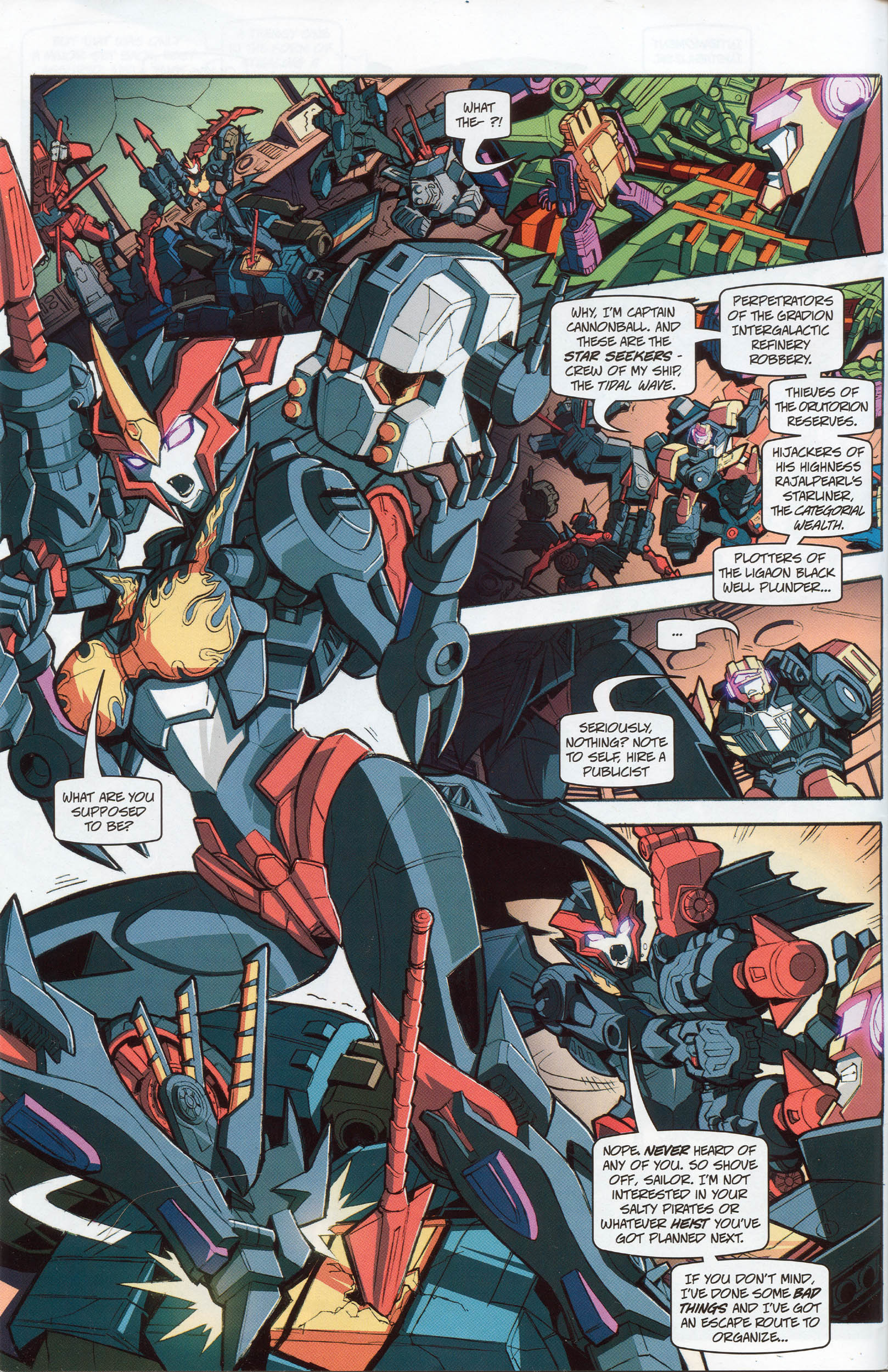 Read online Transformers: Timelines comic -  Issue #10 - 7