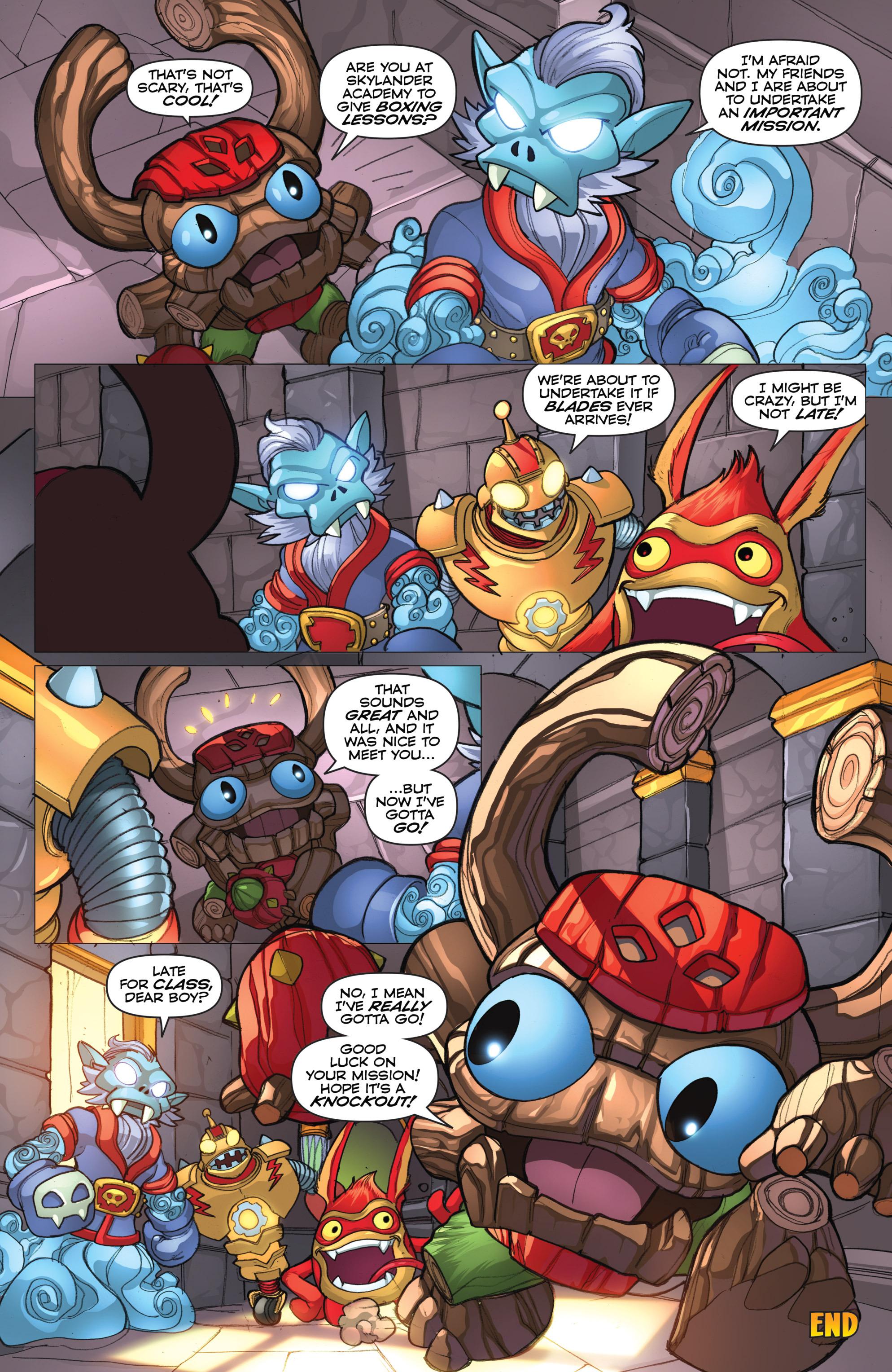 Read online Skylanders comic -  Issue #2 - 21