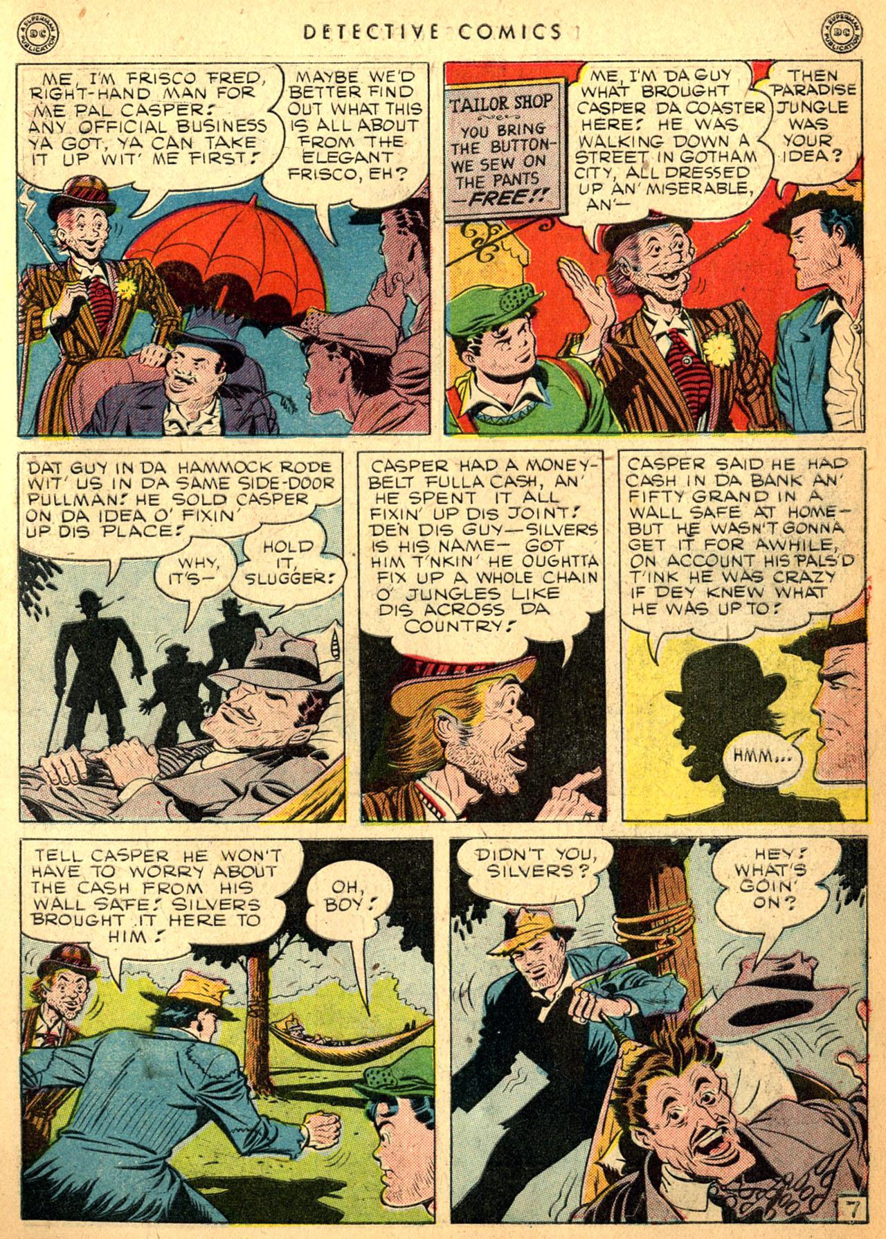 Read online Detective Comics (1937) comic -  Issue #98 - 9