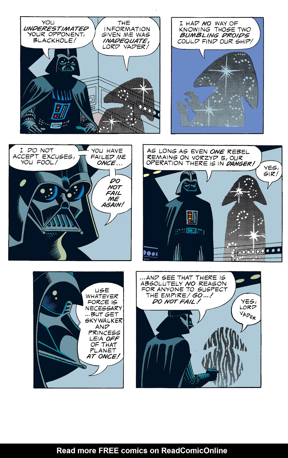 Read online Star Wars Legends: The Newspaper Strips - Epic Collection comic -  Issue # TPB (Part 1) - 77