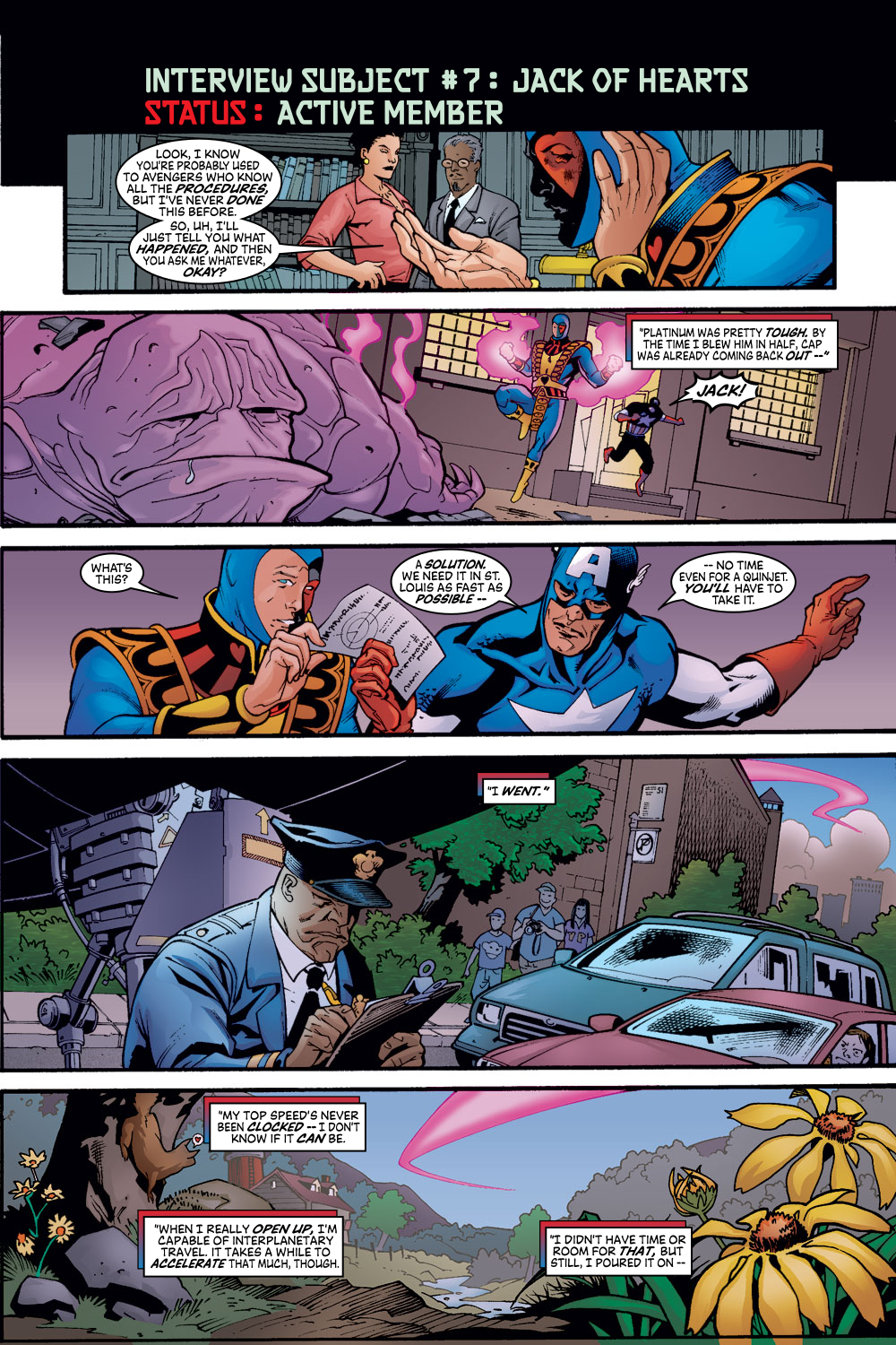 Read online Avengers (1998) comic -  Issue #56 - 20