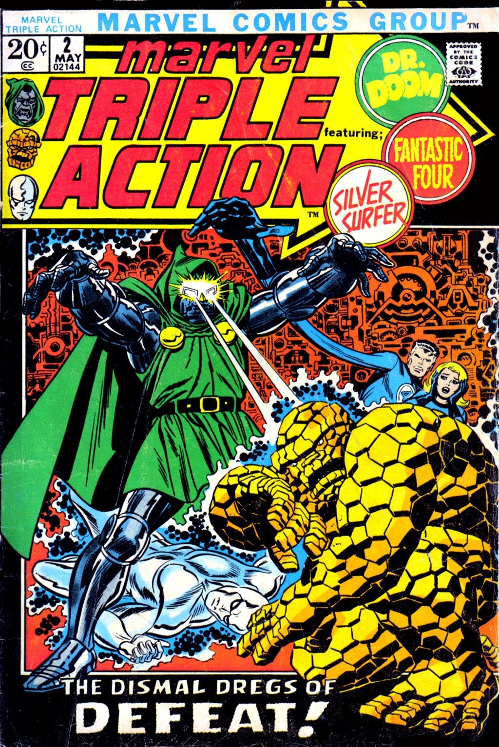 Marvel Triple Action (1972) issue 2 - Page 1