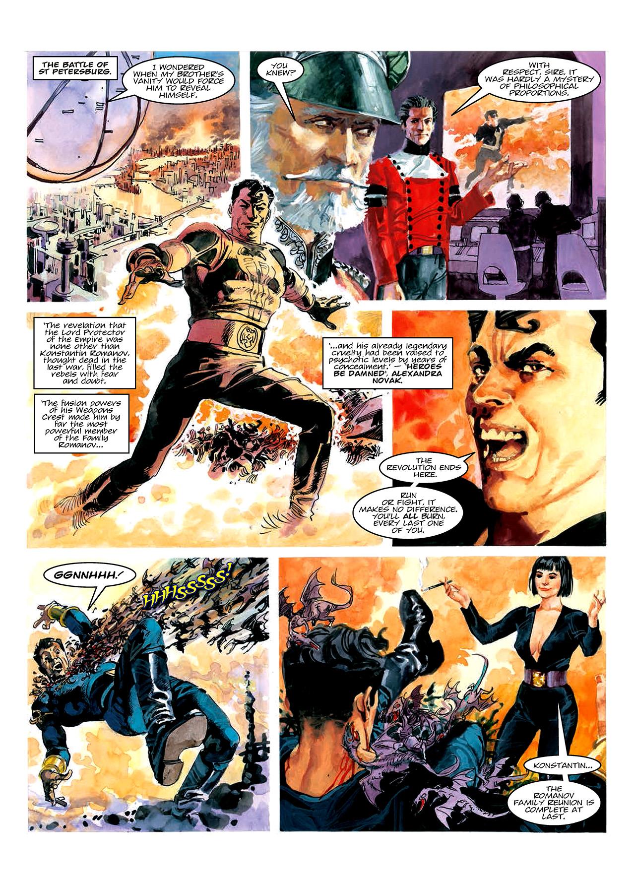 Read online Nikolai Dante comic -  Issue # TPB 10 - 68