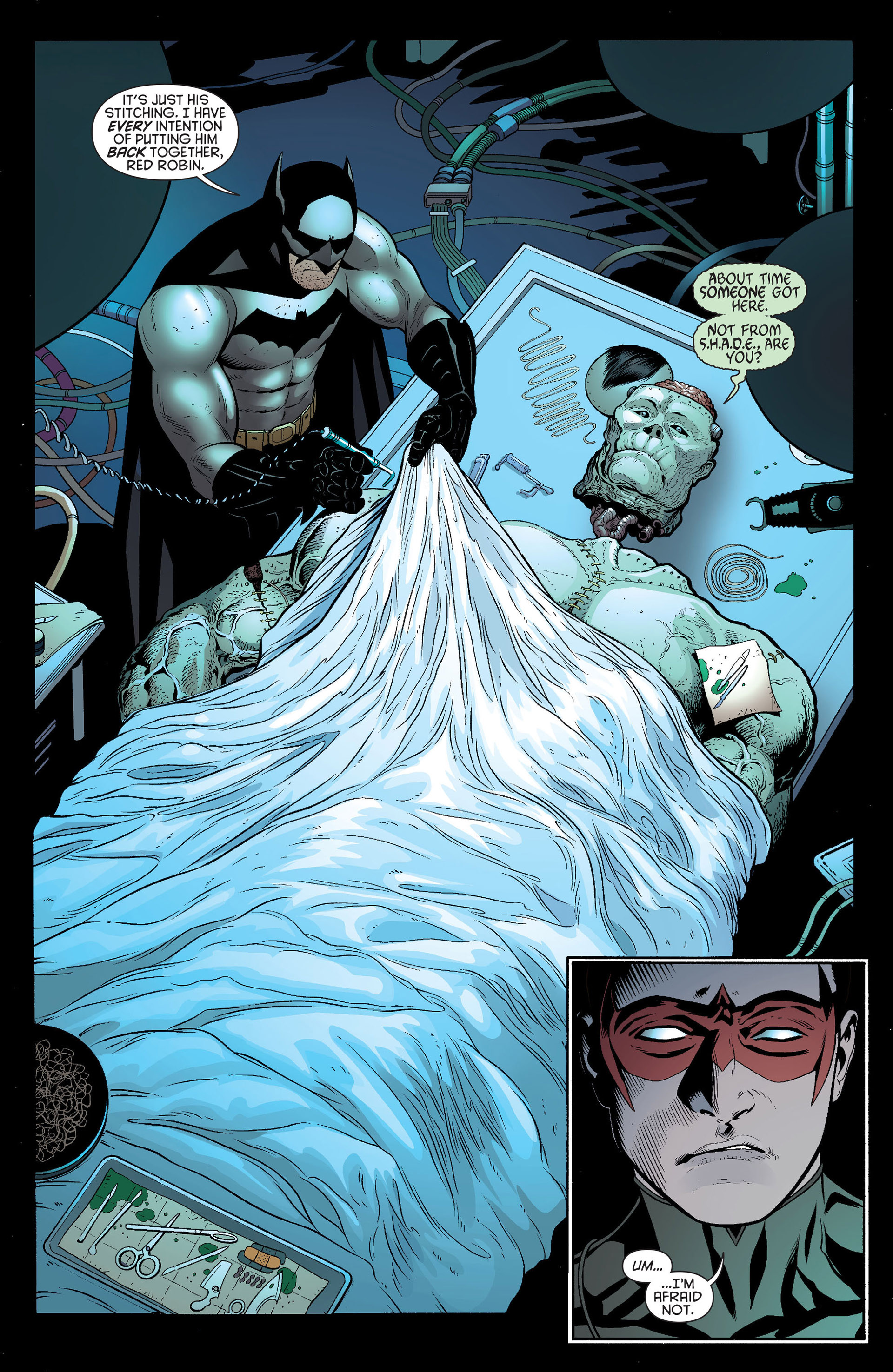 Read online Batman and Robin (2011) comic -  Issue #19 - 17