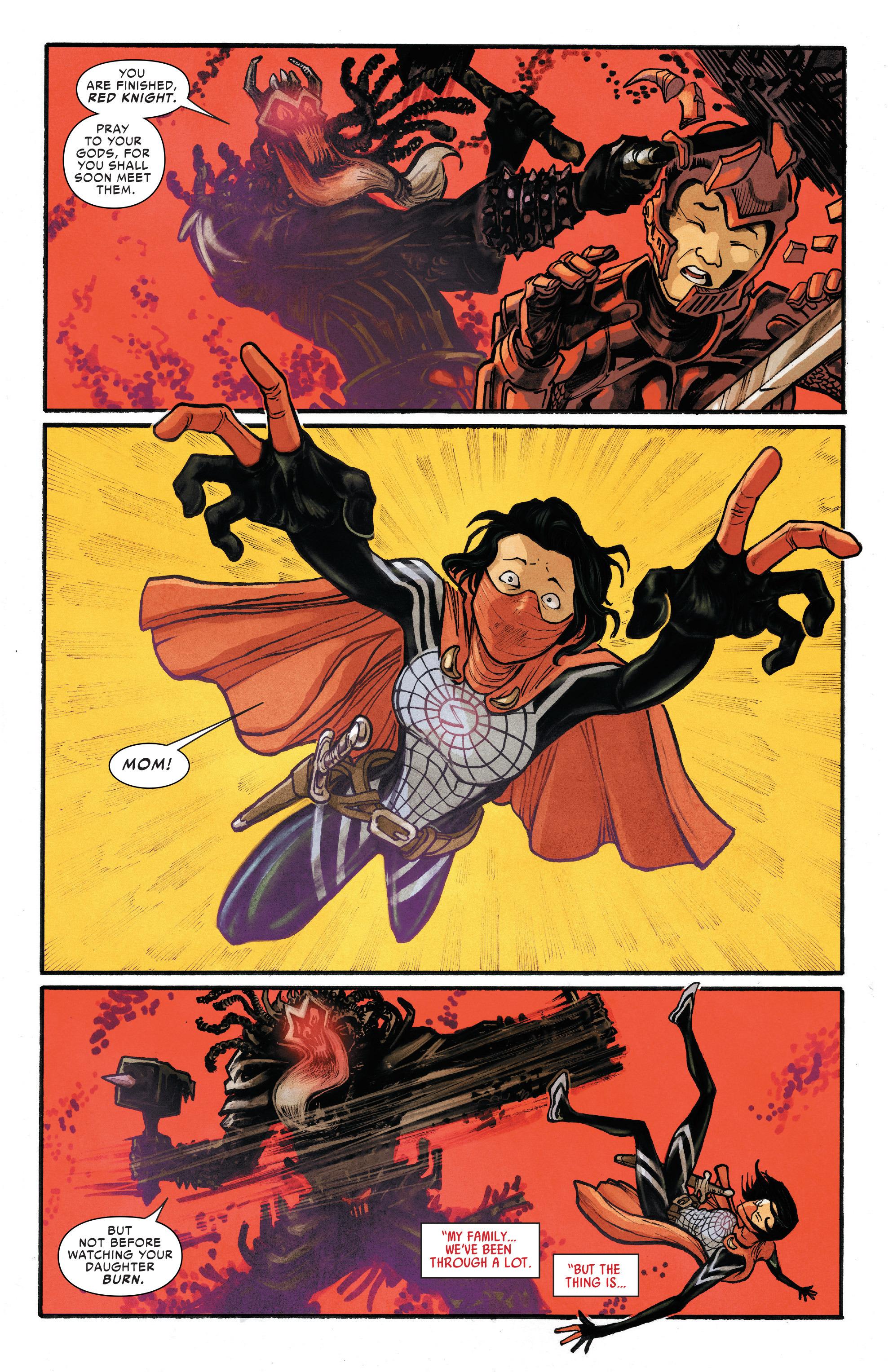 Read online Silk (2016) comic -  Issue #13 - 7
