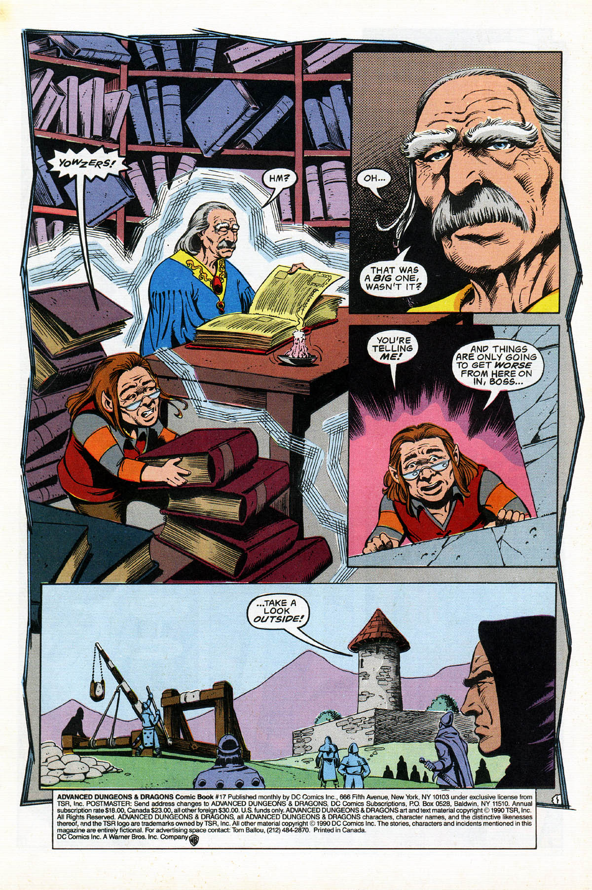 Read online Advanced Dungeons & Dragons comic -  Issue #17 - 3
