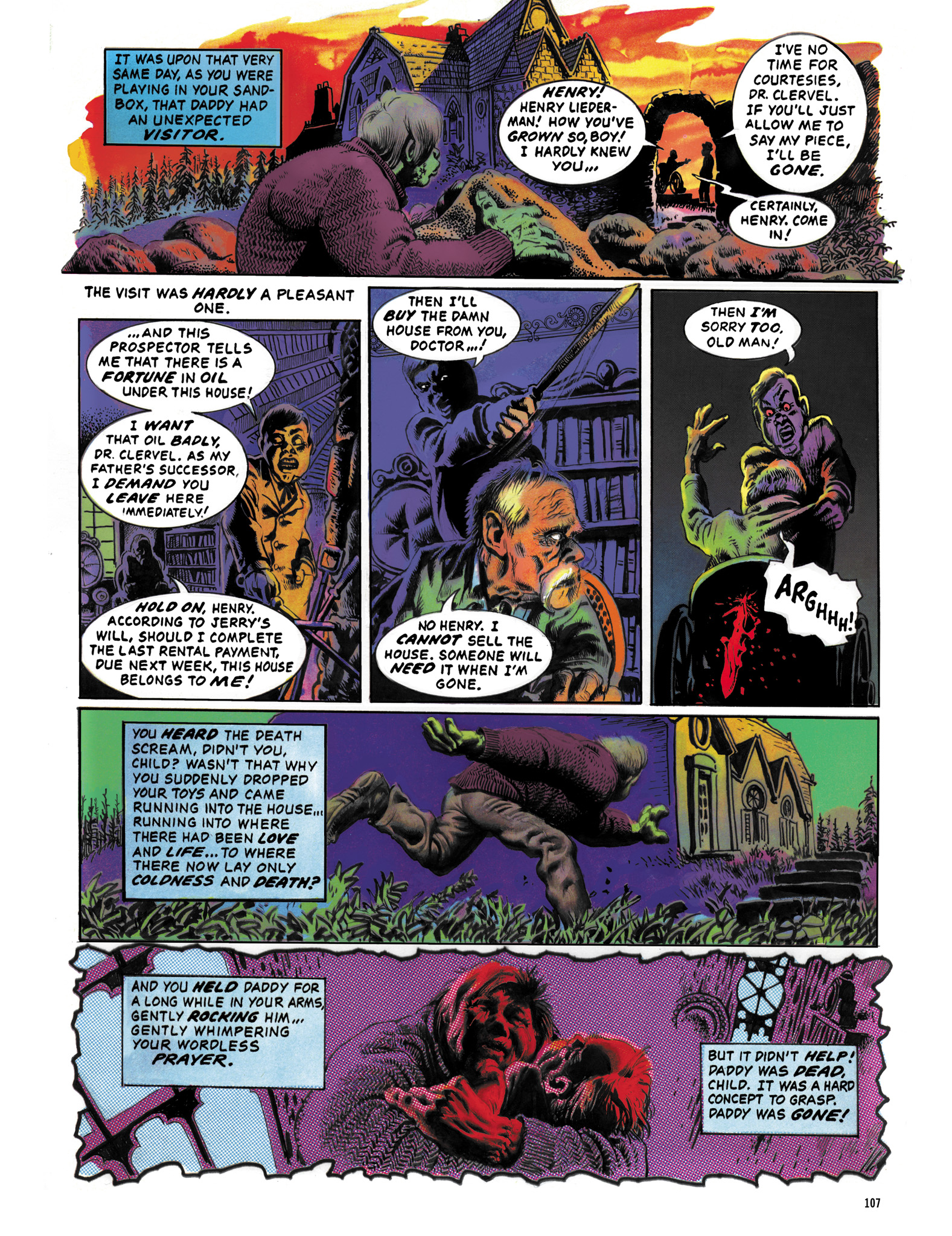 Read online Eerie Archives comic -  Issue # TPB 12 - 108