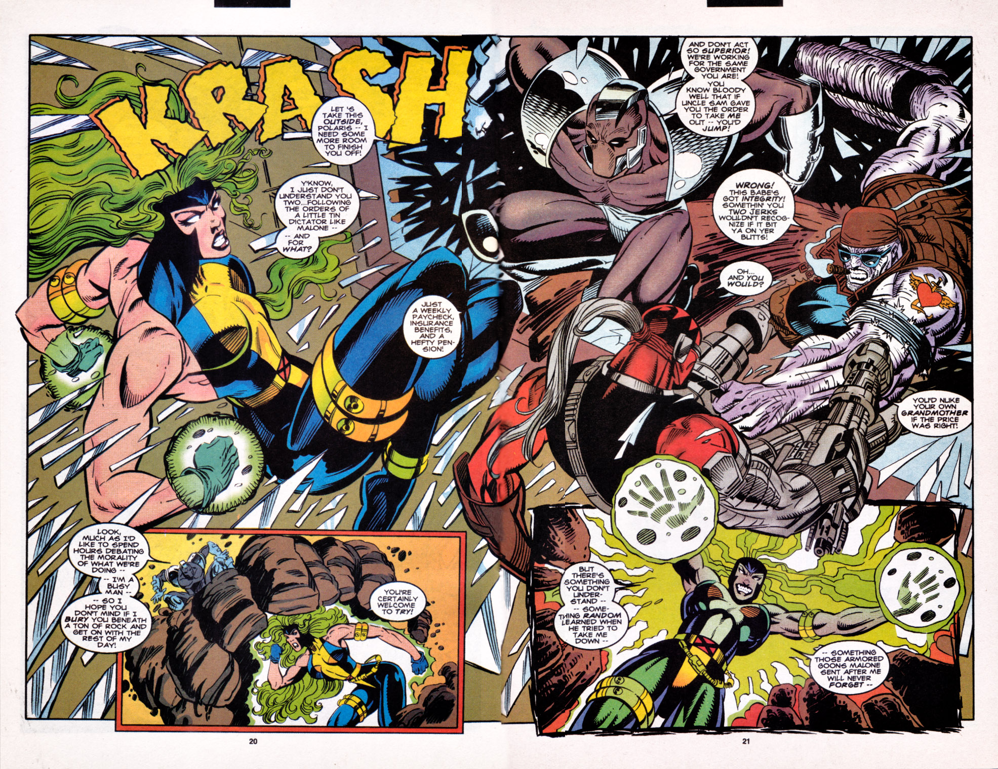 Read online X-Factor (1986) comic -  Issue #102 - 17
