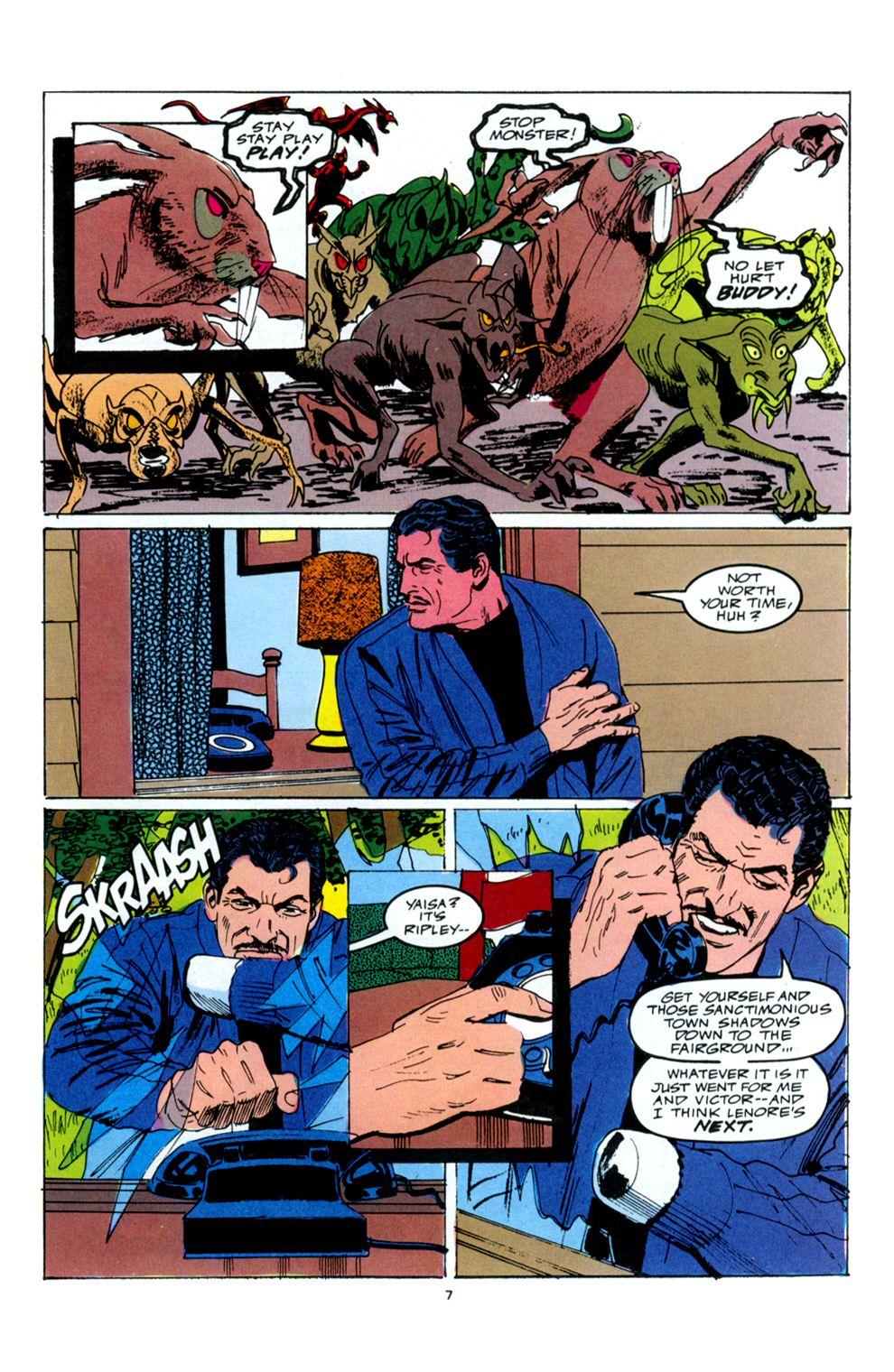 Read online Powerline comic -  Issue #6 - 9