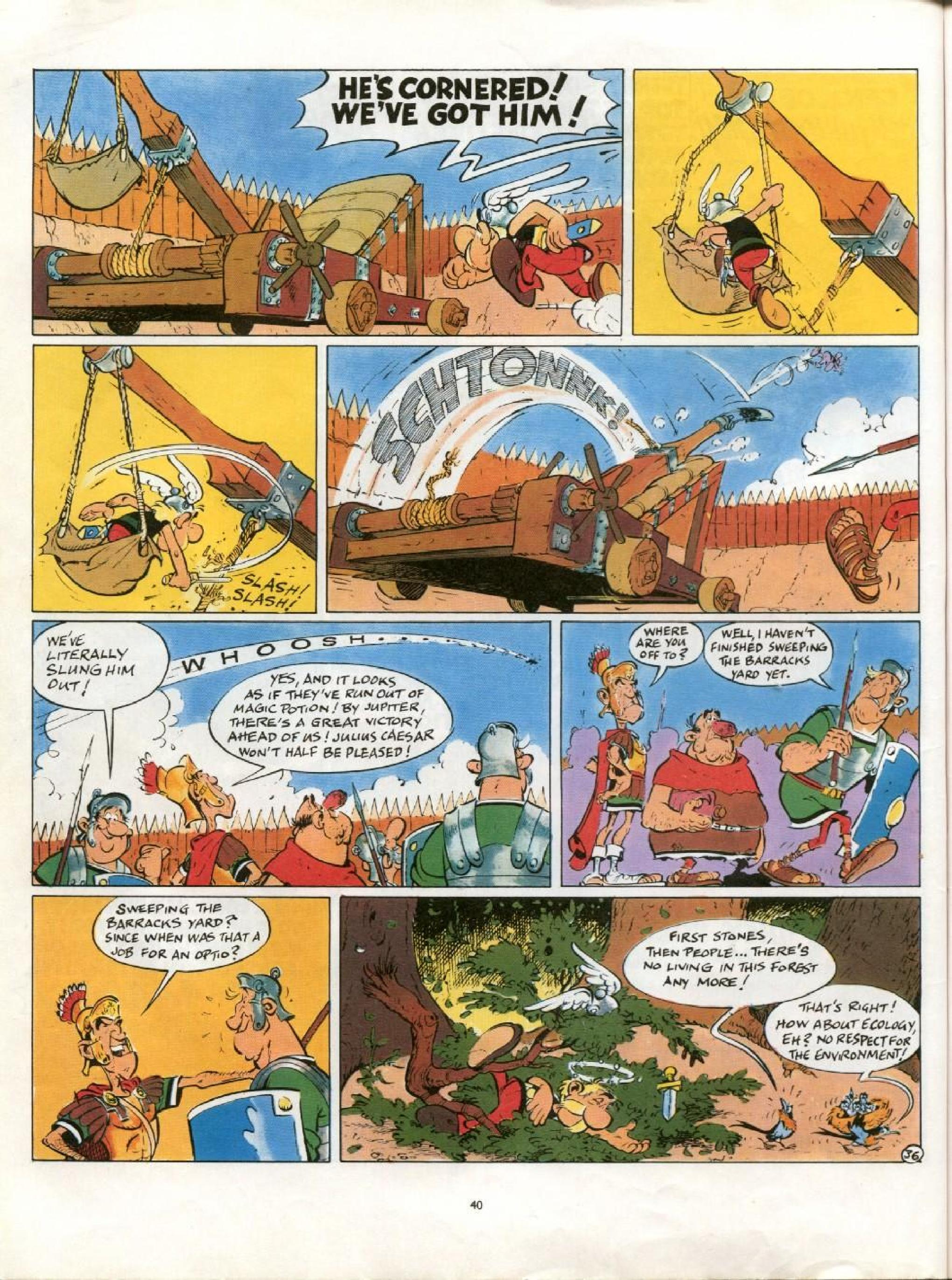 Read online Asterix comic -  Issue #21 - 37