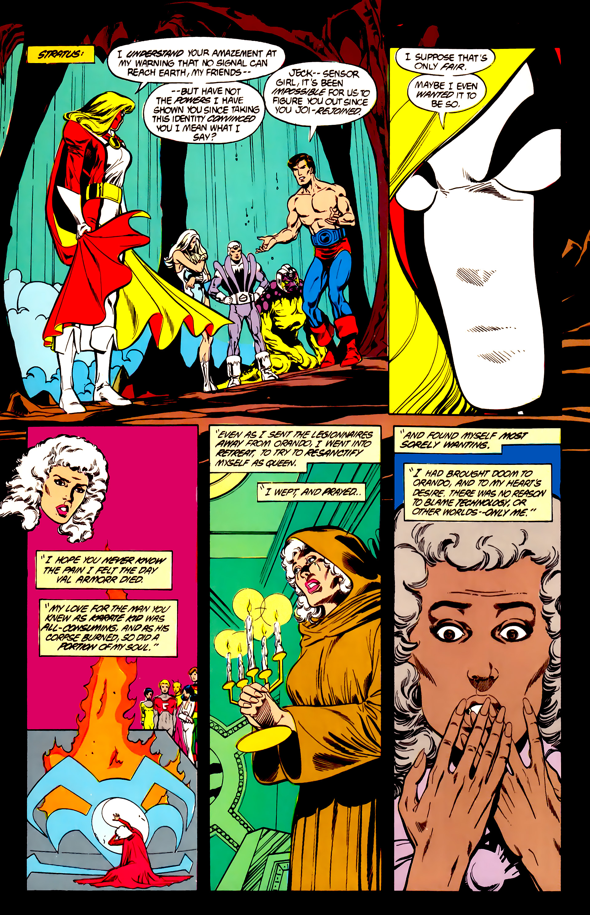 Legion of Super-Heroes (1984) 26 Page 13