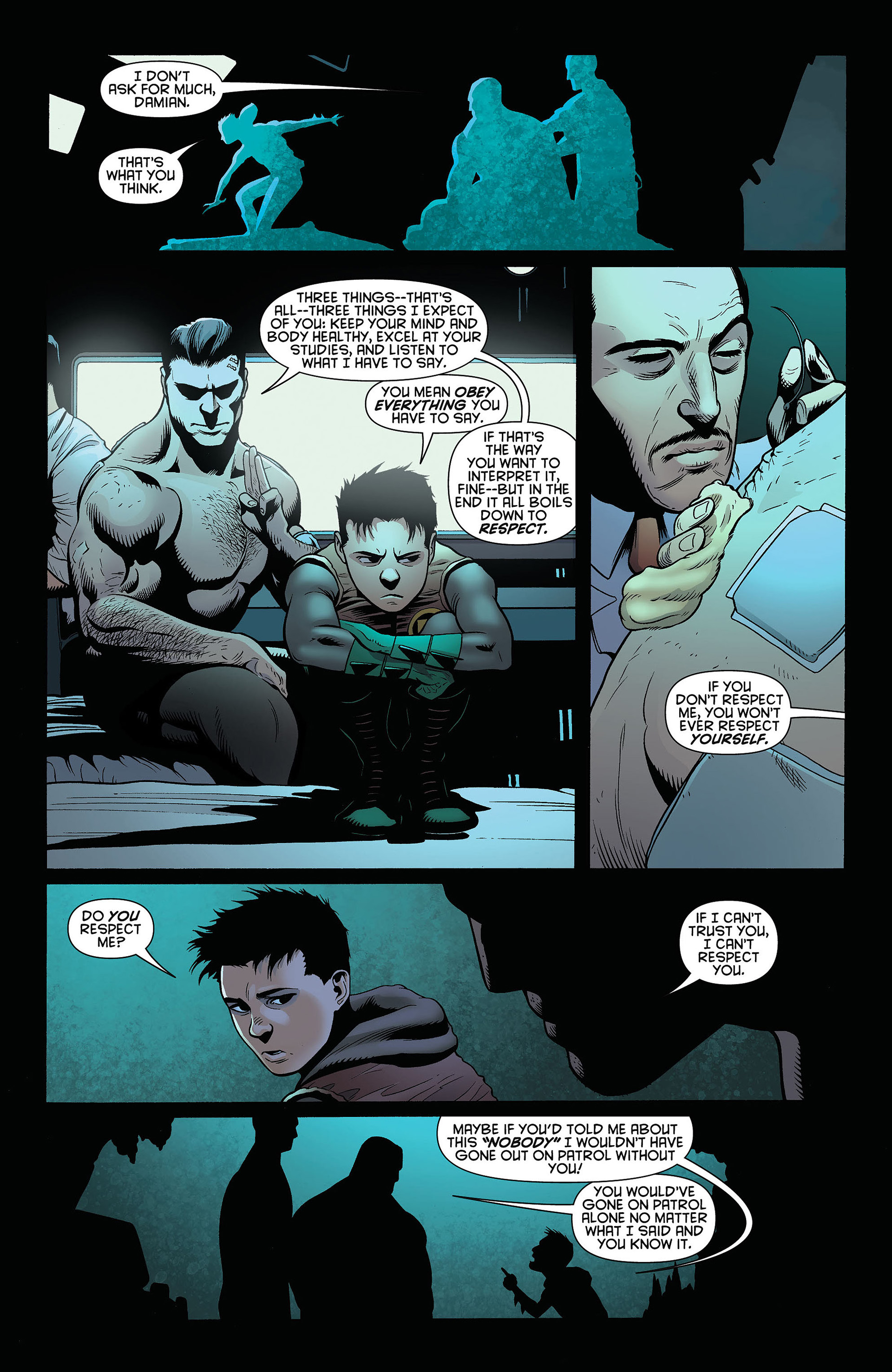 Read online Batman and Robin (2011) comic -  Issue #4 - 14