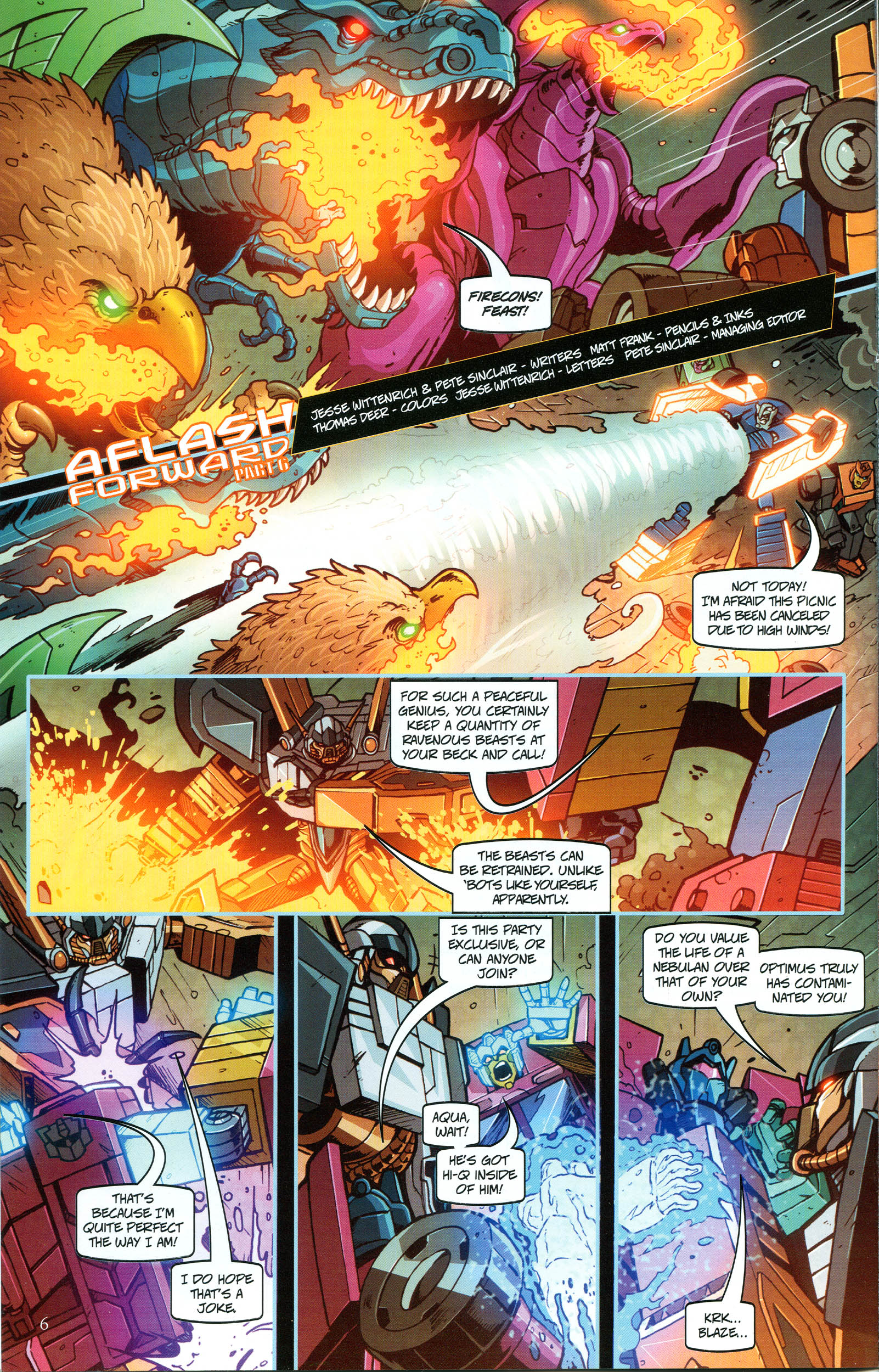 Read online Transformers: Collectors' Club comic -  Issue #48 - 6
