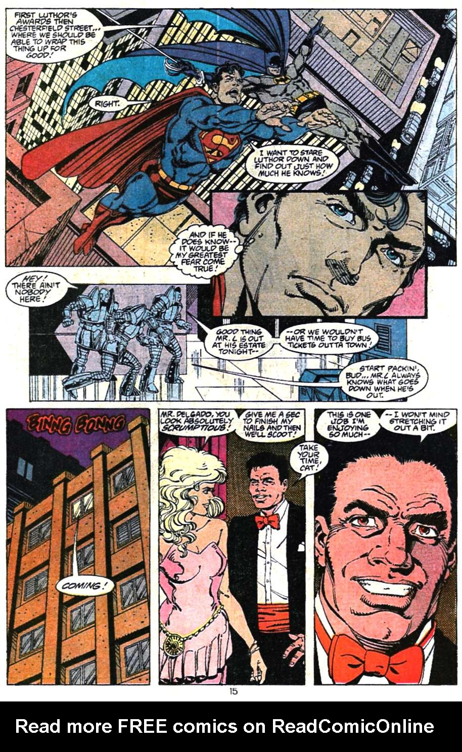 Read online Adventures of Superman (1987) comic -  Issue #467 - 17