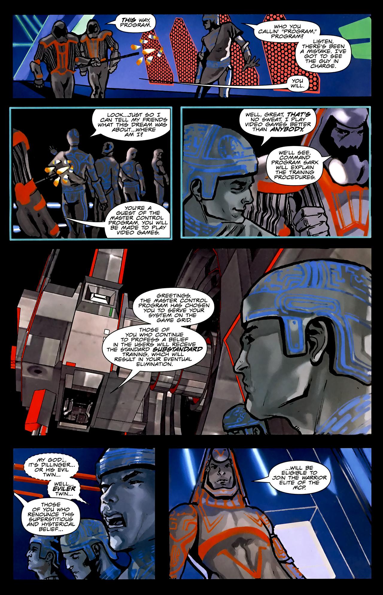 Read online TRON: Original Movie Adaptation comic -  Issue #1 - 32