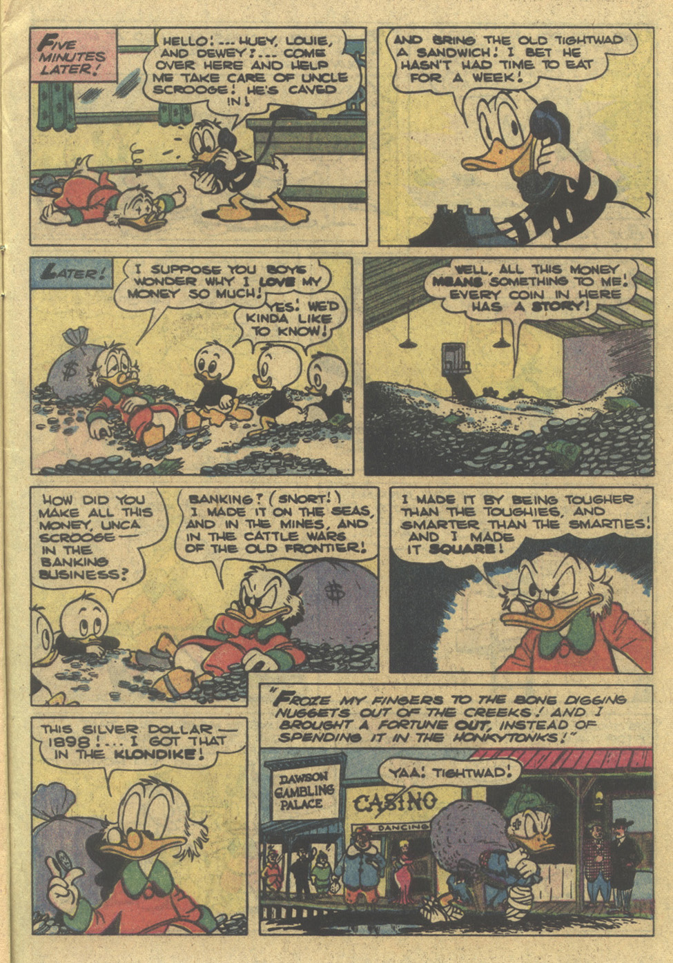 Read online Uncle Scrooge (1953) comic -  Issue #195 - 9