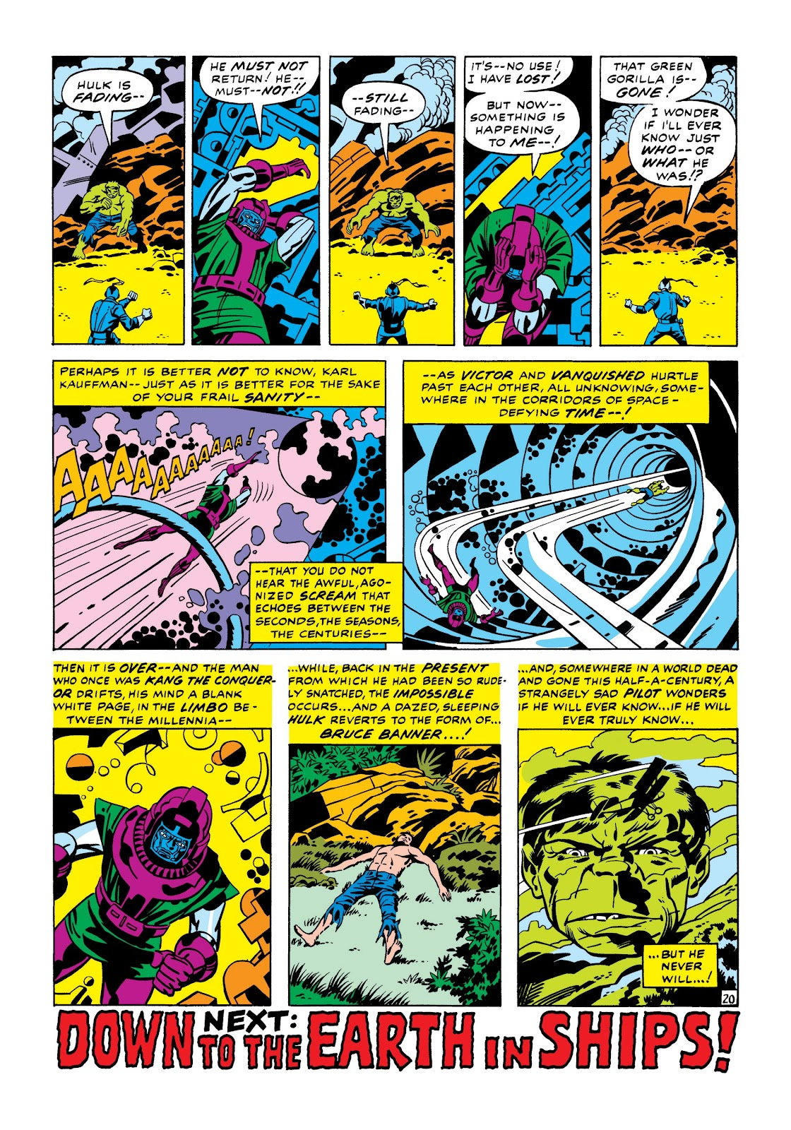 Read online Marvel Masterworks: The Incredible Hulk comic -  Issue # TPB 7 (Part 1) - 26