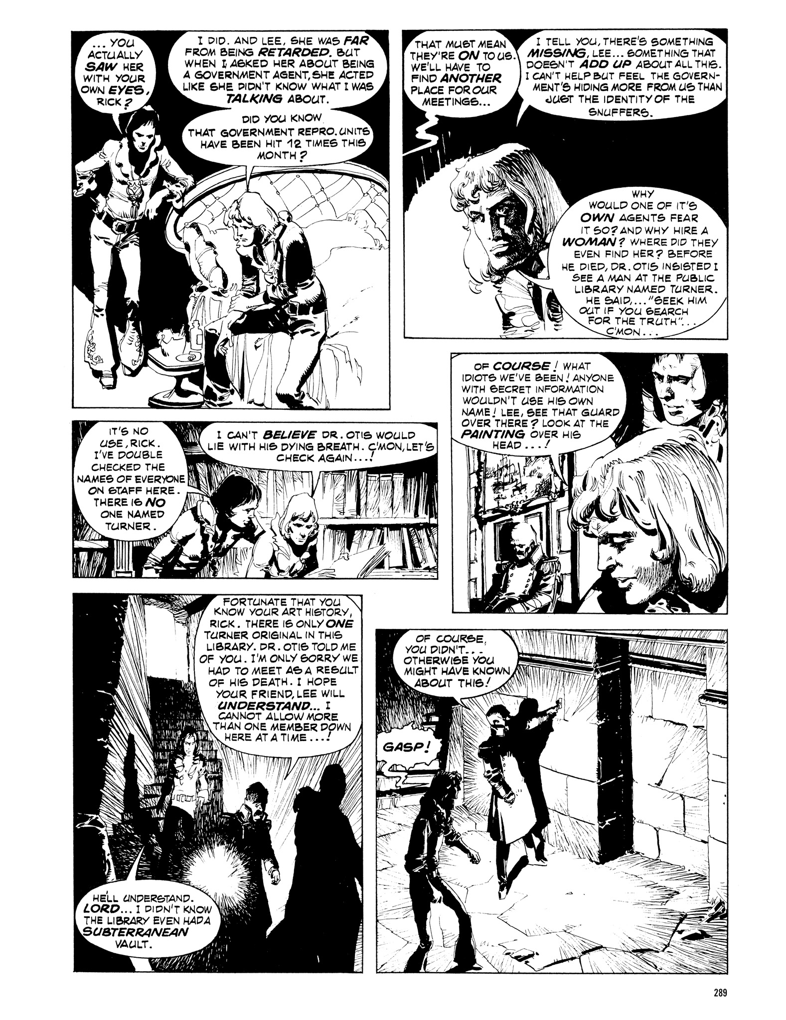 Read online Eerie Archives comic -  Issue # TPB 16 - 290