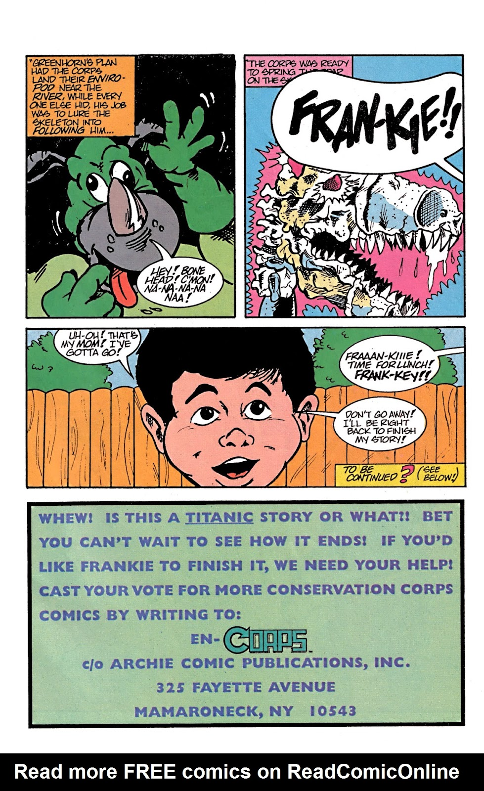Read online Conservation Corps comic -  Issue #3 - 24