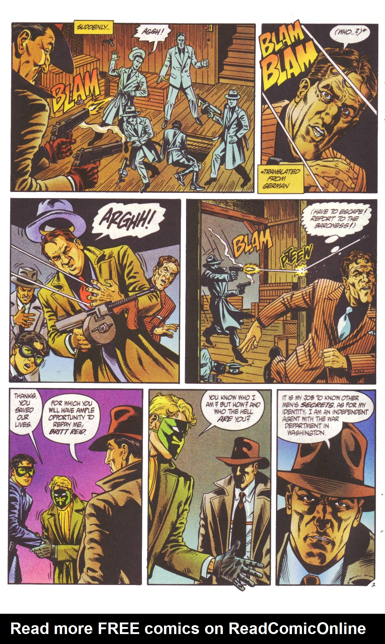Read online Sting of The Green Hornet comic -  Issue #2 - 3