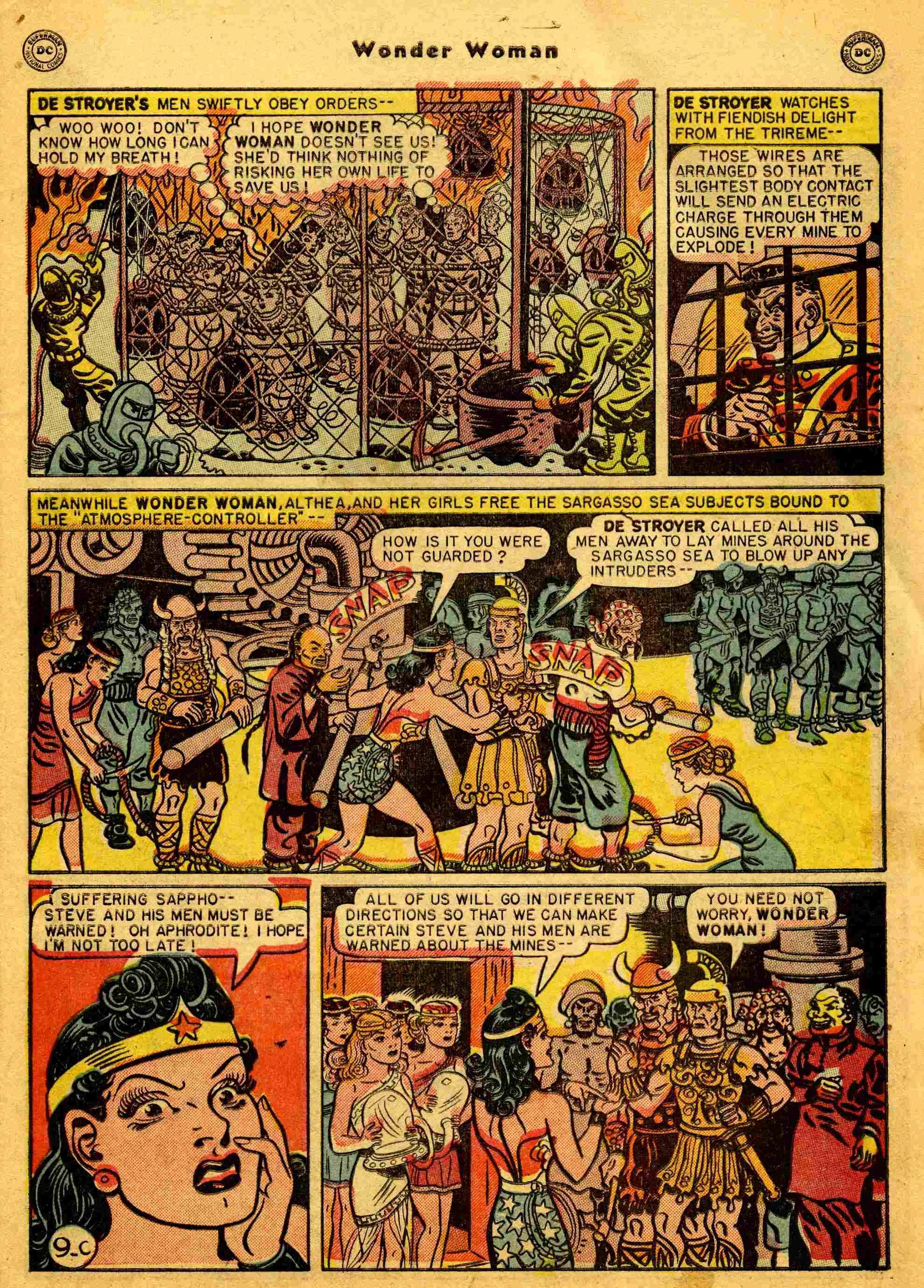 Read online Wonder Woman (1942) comic -  Issue #44 - 34