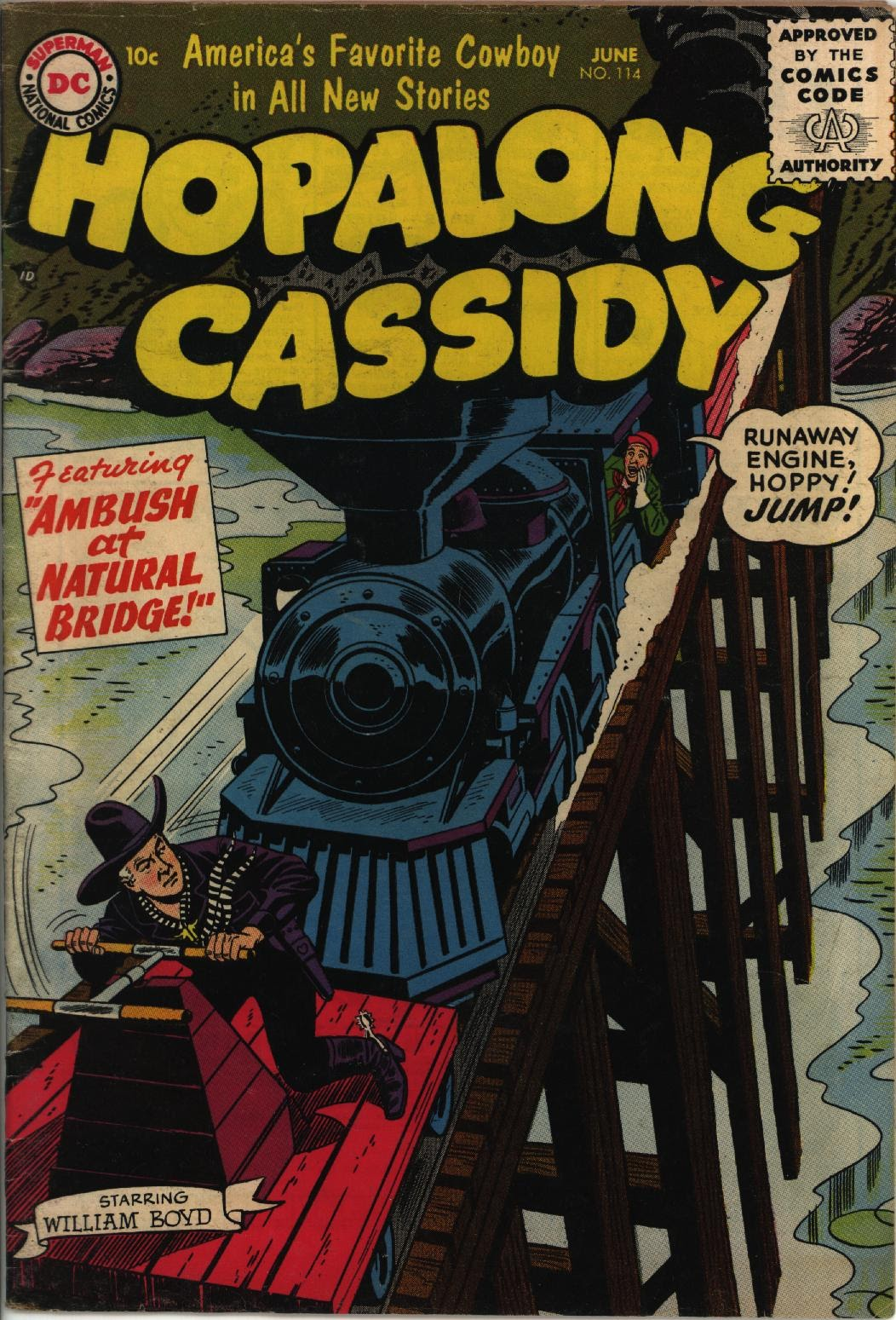 Hopalong Cassidy issue 114 - Page 1