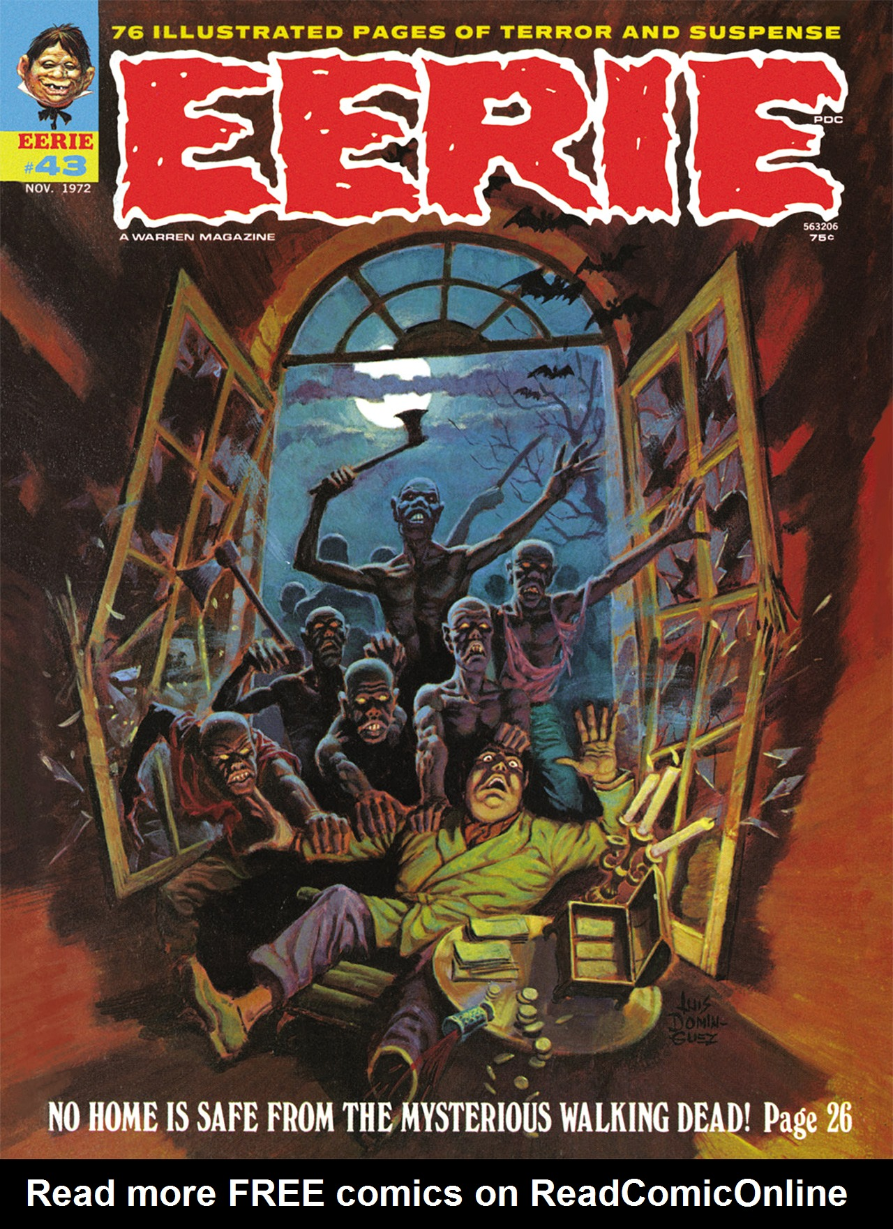 Read online Eerie Archives comic -  Issue # TPB 9 - 16