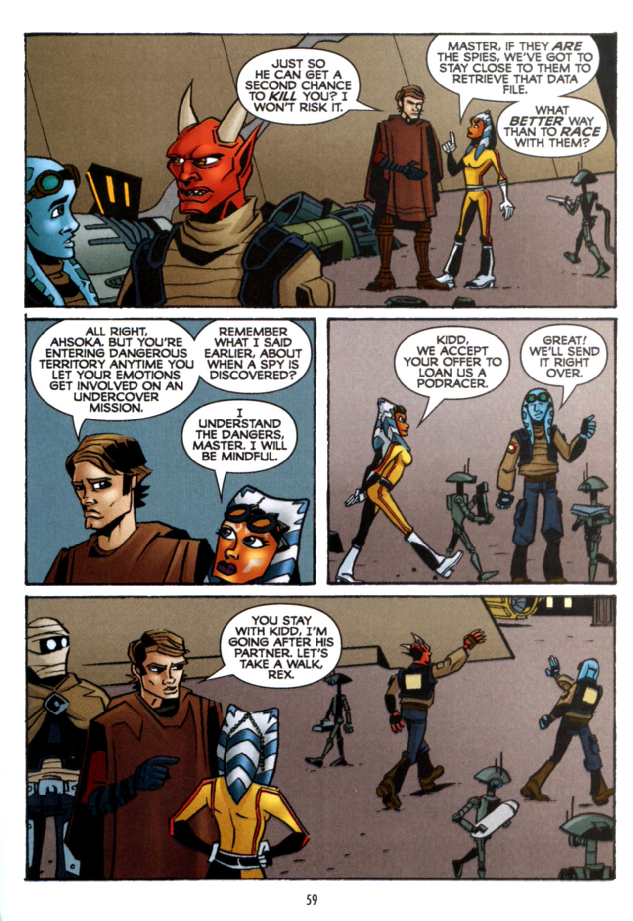 Read online Star Wars: The Clone Wars - Crash Course comic -  Issue # Full - 60
