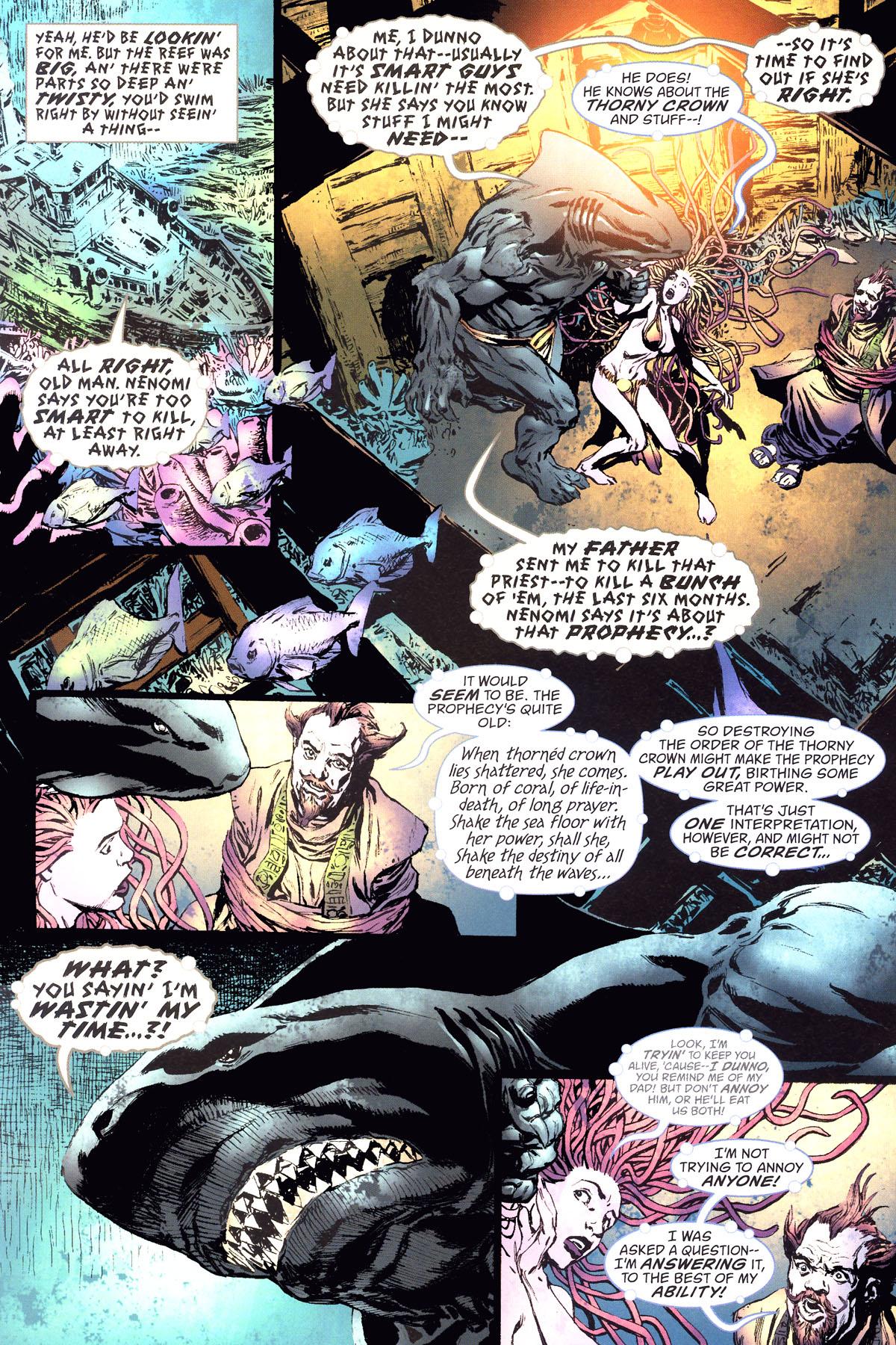 Read online Aquaman: Sword of Atlantis comic -  Issue #47 - 6