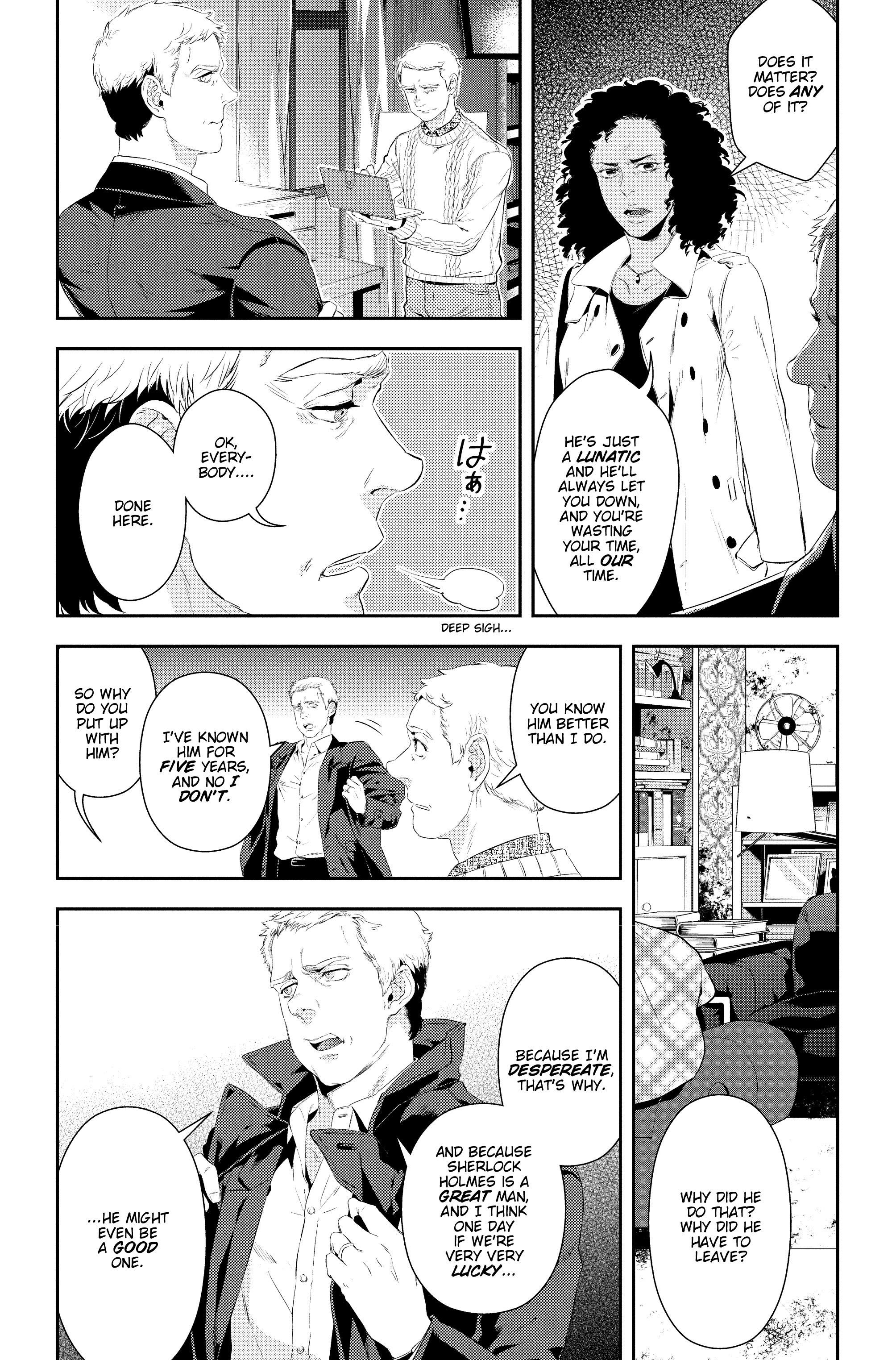 Read online Sherlock: A Study In Pink comic -  Issue #5 - 27
