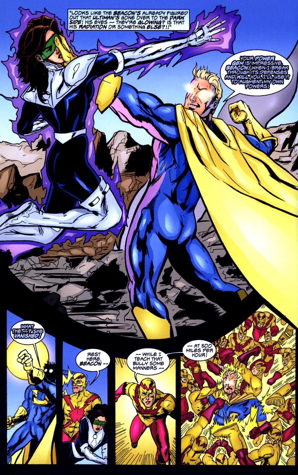 Read online Big Bang: Round Table of America comic -  Issue # Full - 14