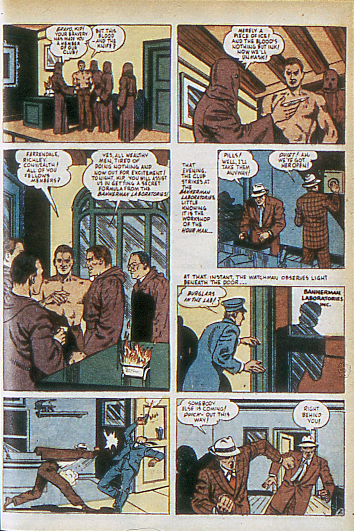 Read online Adventure Comics (1938) comic -  Issue #63 - 34