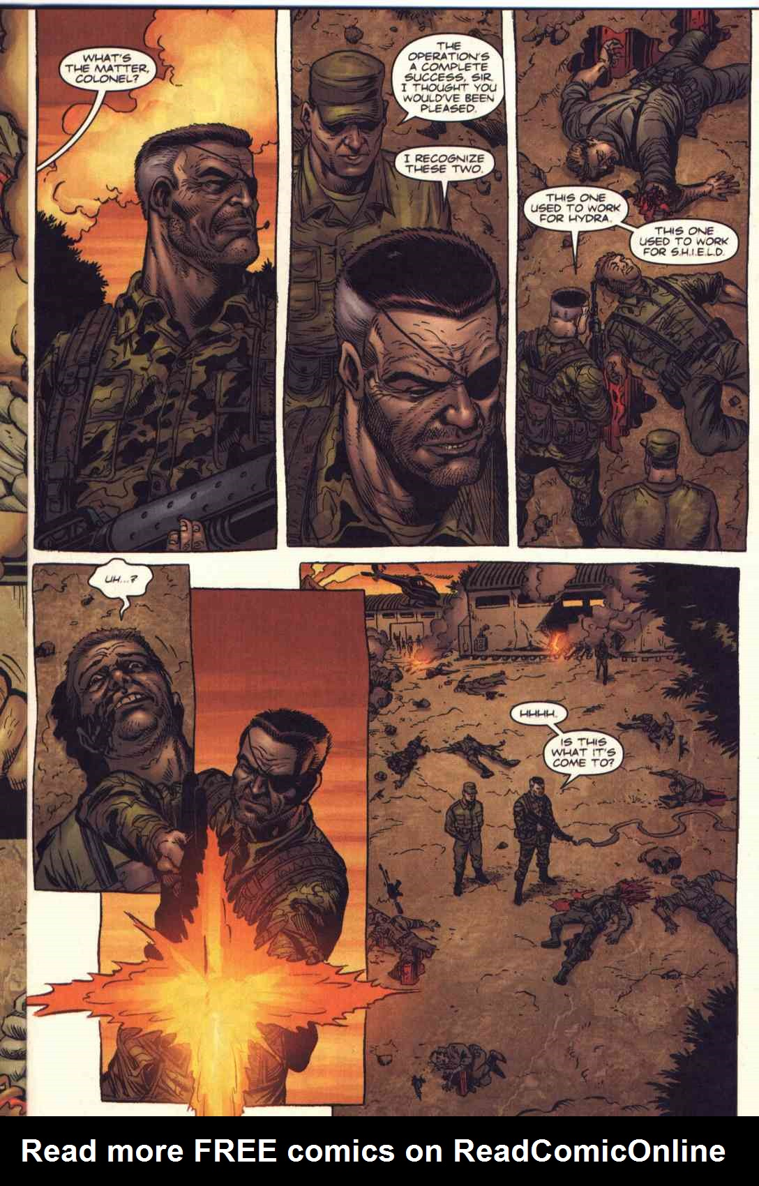 Read online Fury comic -  Issue #1 - 8
