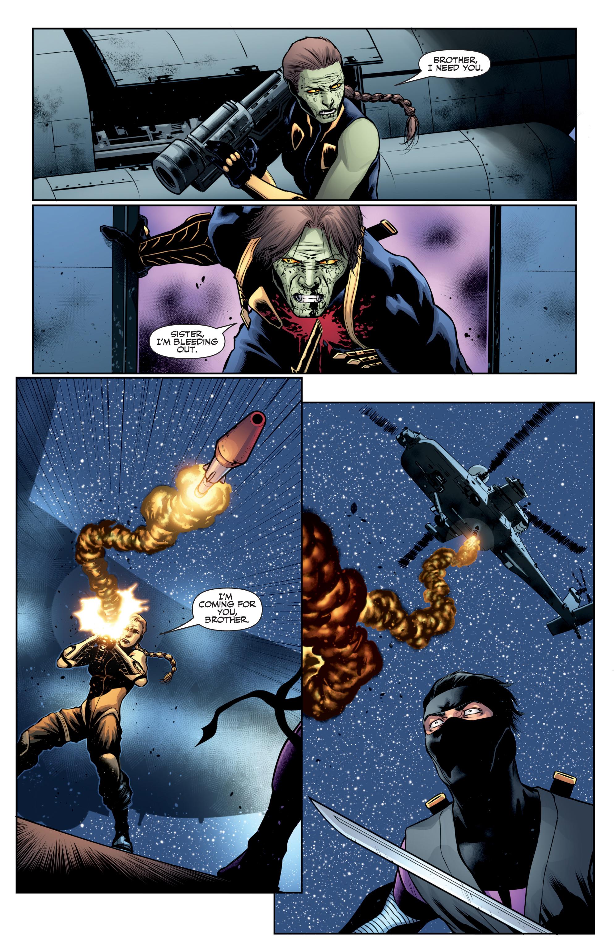 Read online Ninjak (2015) comic -  Issue #27 - 21
