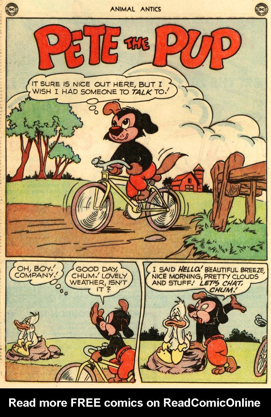 Read online Animal Antics comic -  Issue #29 - 34