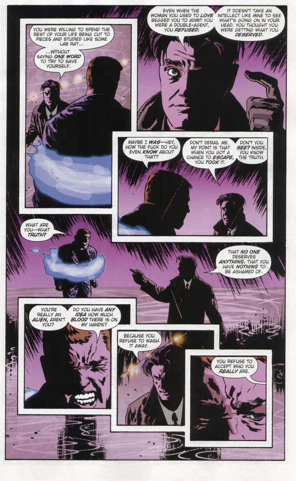 Read online Sleeper comic -  Issue #12 - 13