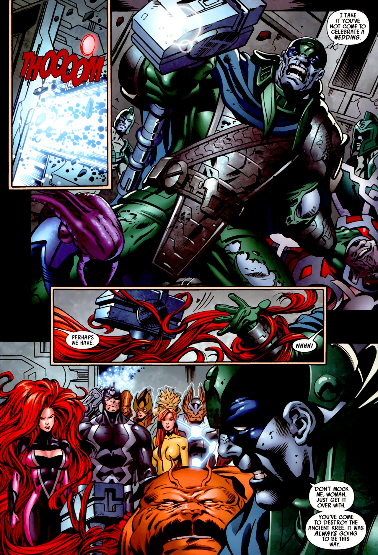 Read online Secret Invasion: War of Kings comic -  Issue # Full - 33