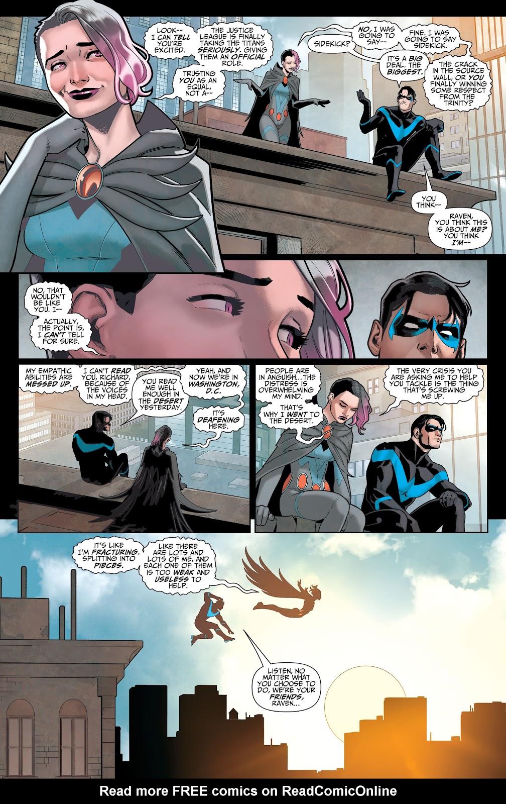 Read online Titans (2016) comic -  Issue #36 - 4
