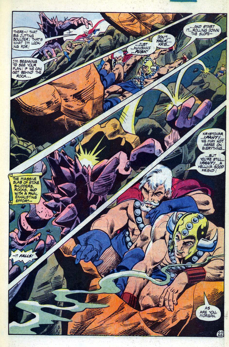 Warlord (1976) issue 92 - Page 23