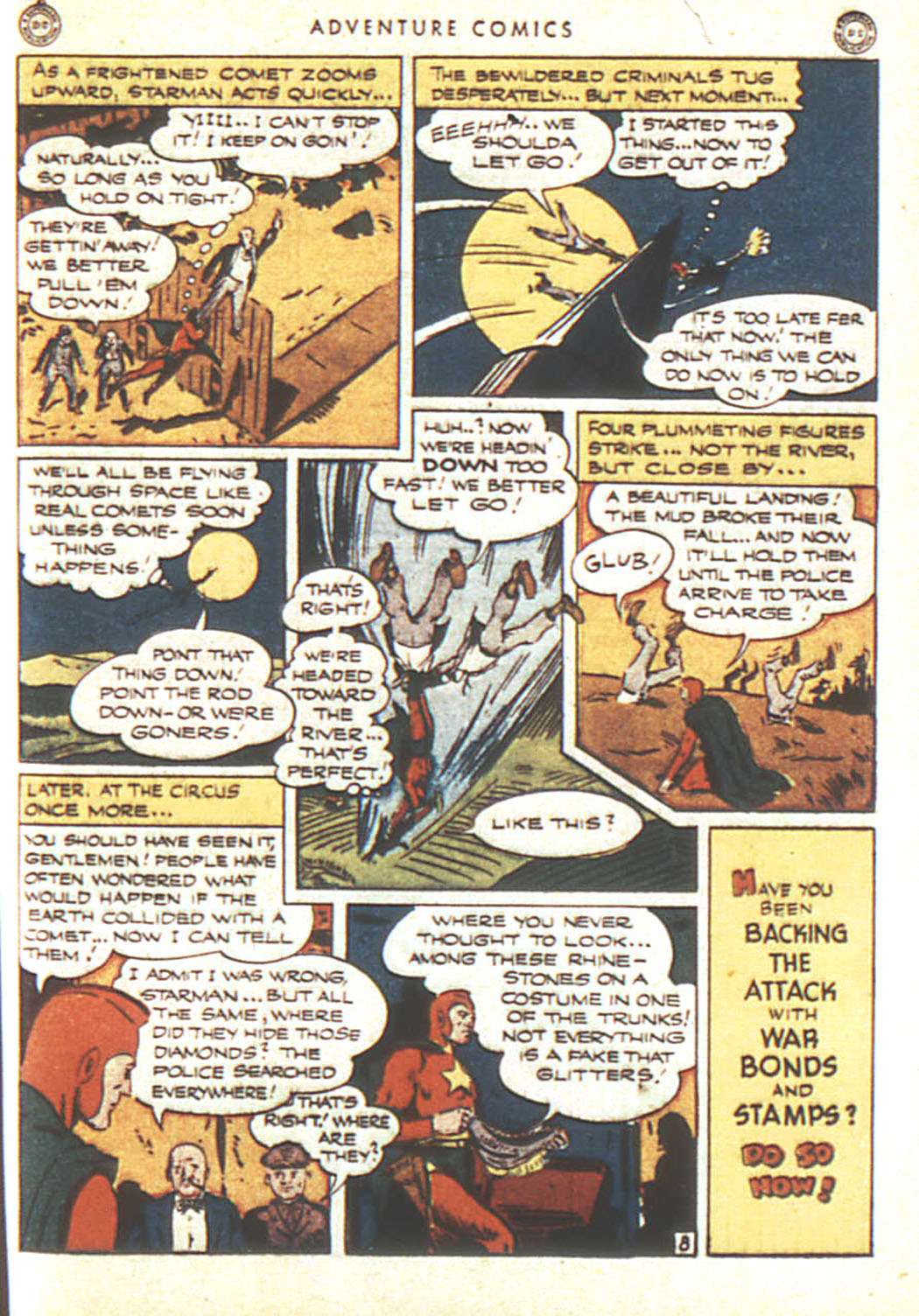 Read online Adventure Comics (1938) comic -  Issue #92 - 34