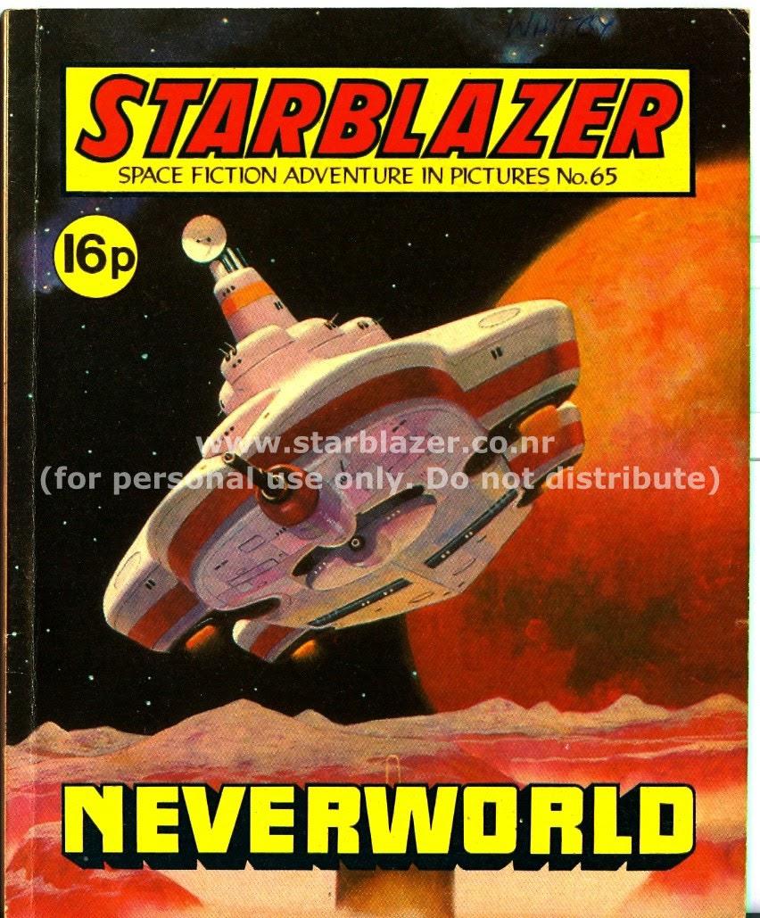 Starblazer issue 65 - Page 1