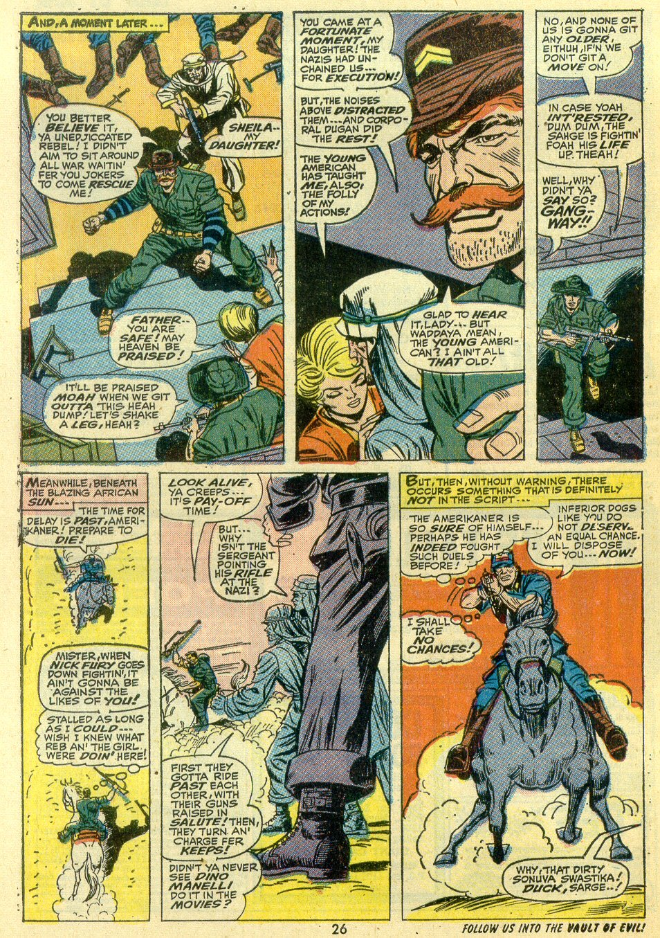 Read online Sgt. Fury comic -  Issue #107 - 28