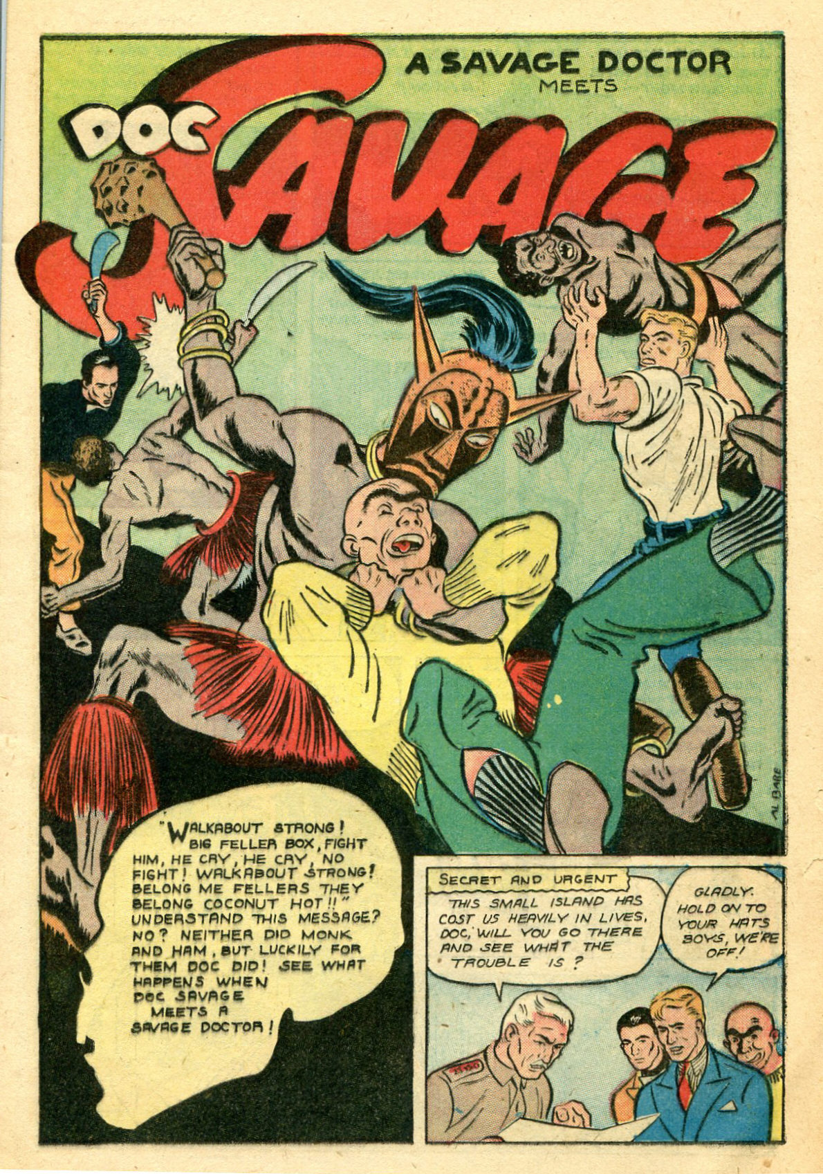 Read online Shadow Comics comic -  Issue #44 - 24