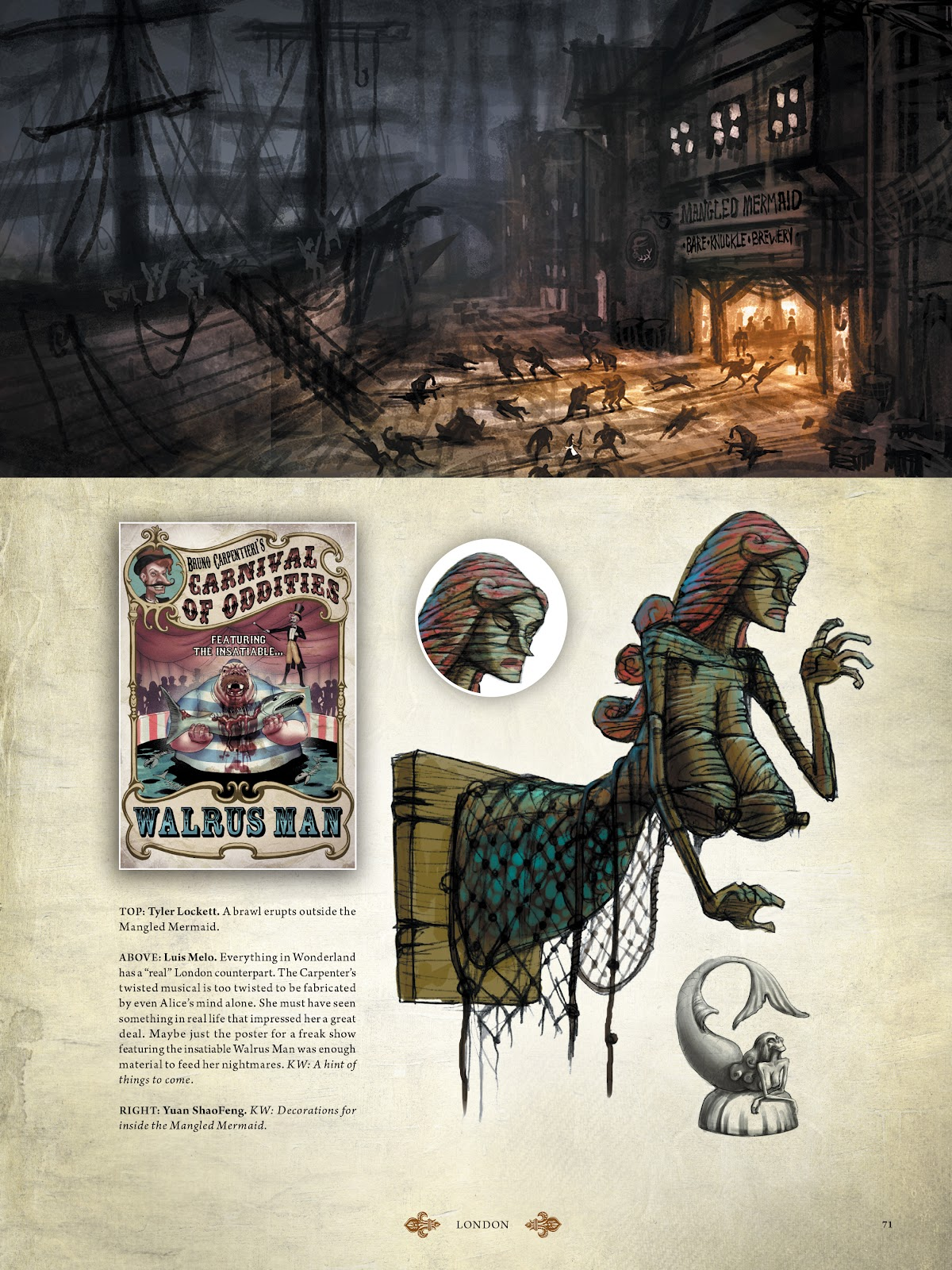Read online The Art of Alice: Madness Returns comic -  Issue # TPB (Part 1) - 64