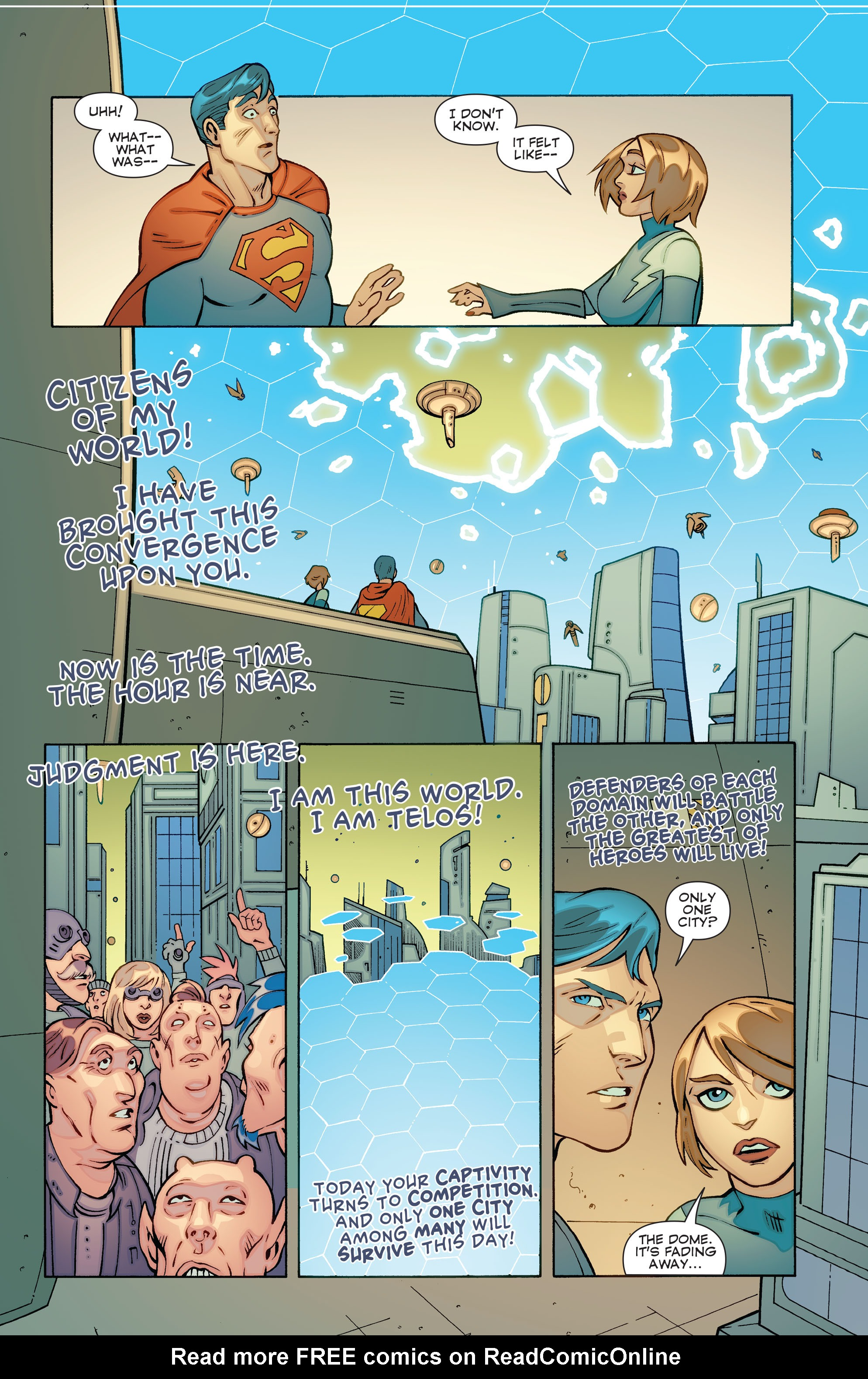 Read online Convergence Superboy and the Legion of Super-Heroes comic -  Issue #1 - 16