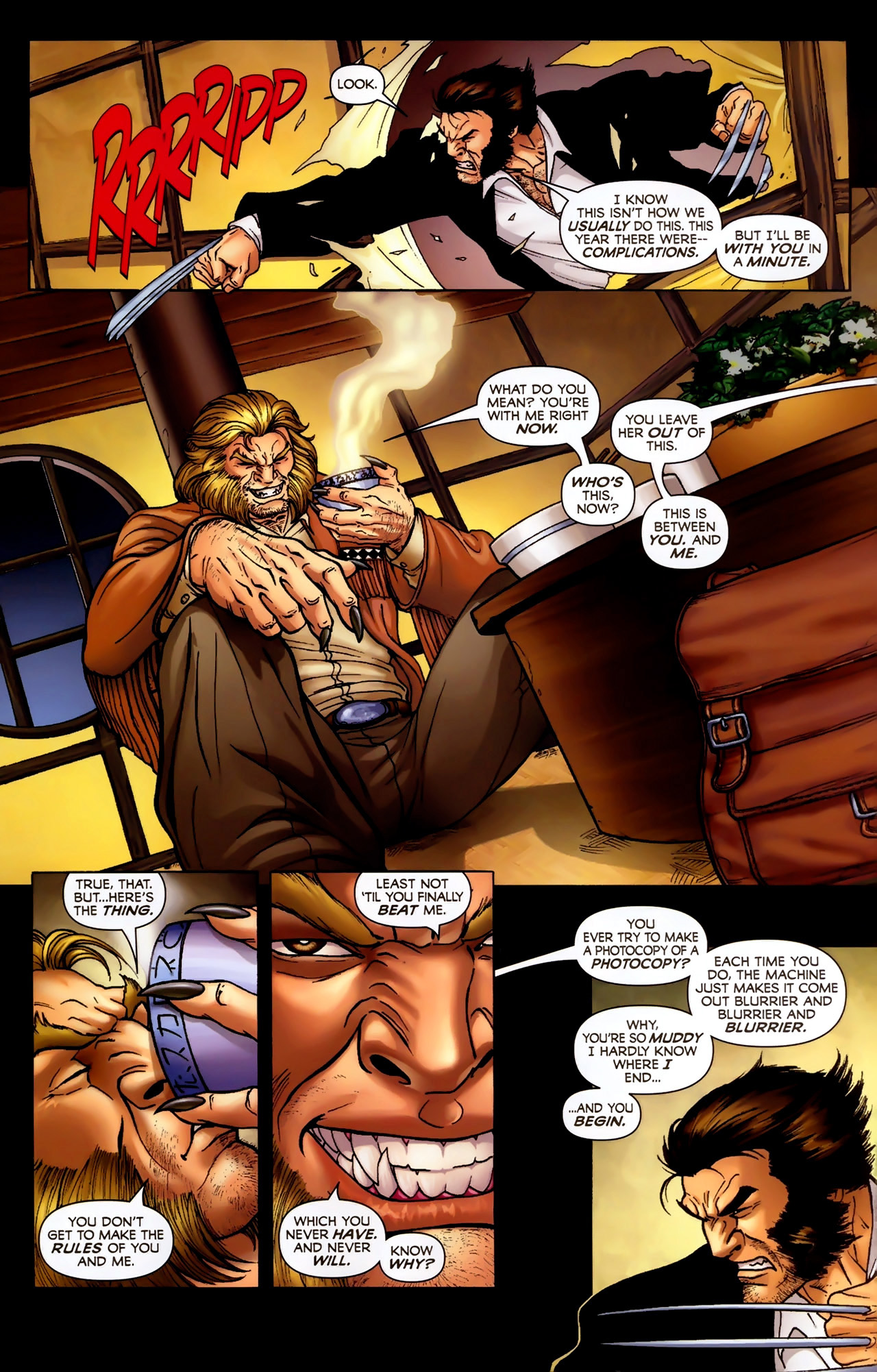 Read online Wolverine: First Class comic -  Issue #2 - 11