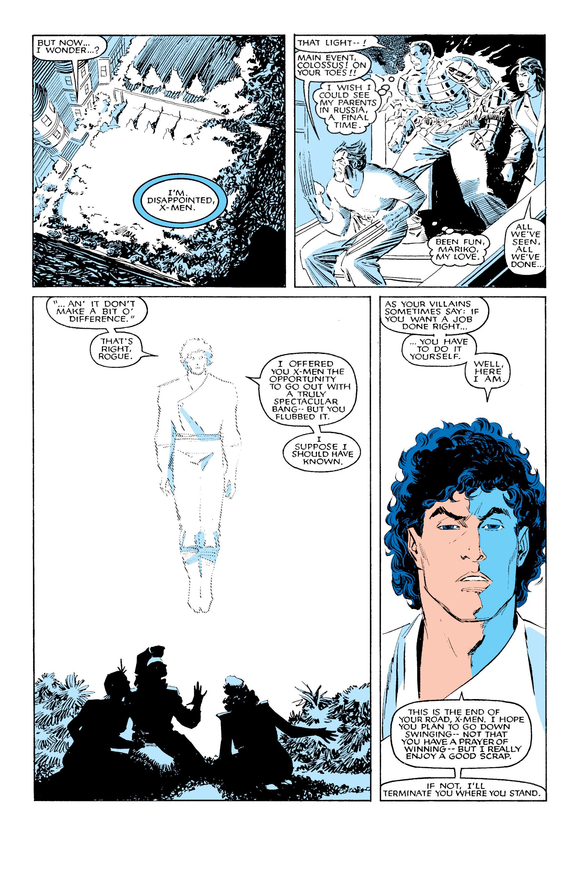 Read online Uncanny X-Men (1963) comic -  Issue #203 - 18
