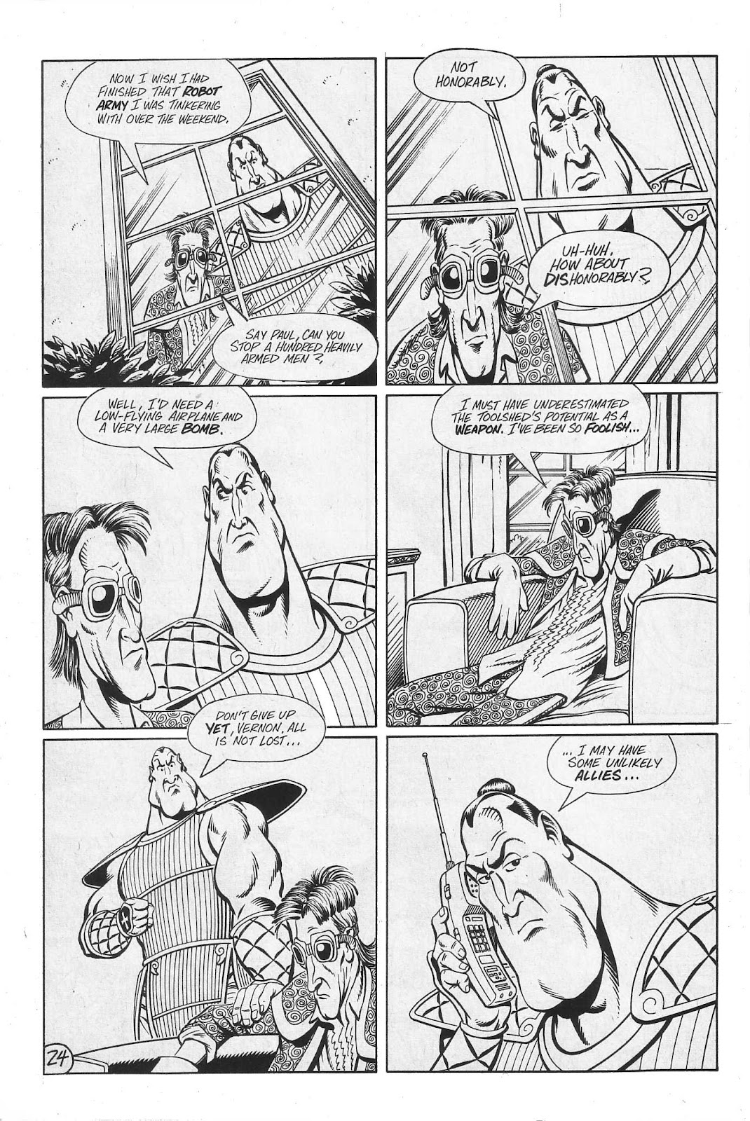 Read online Paul the Samurai (1991) comic -  Issue # TPB - 90