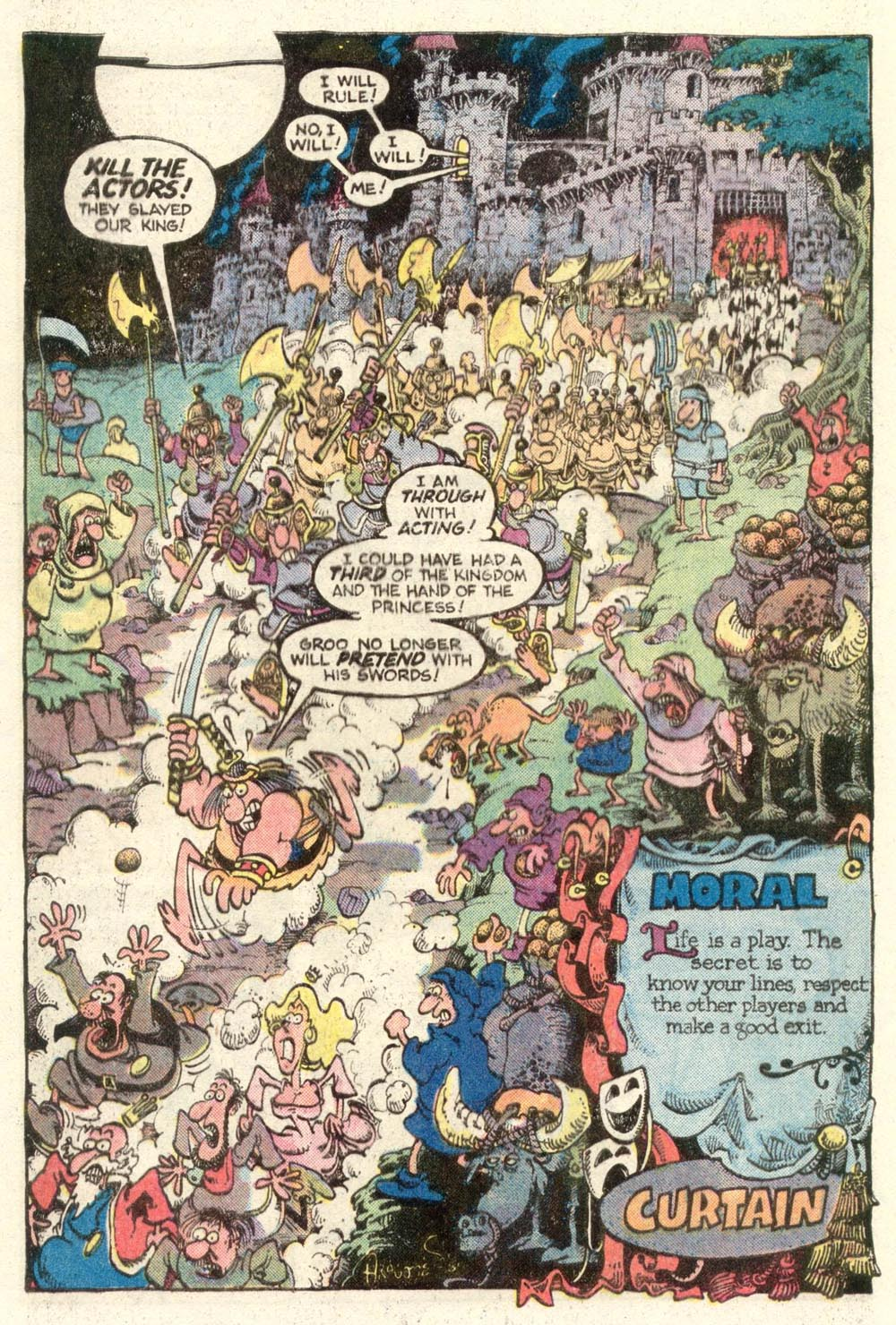 Read online Sergio Aragonés Groo the Wanderer comic -  Issue #12 - 23