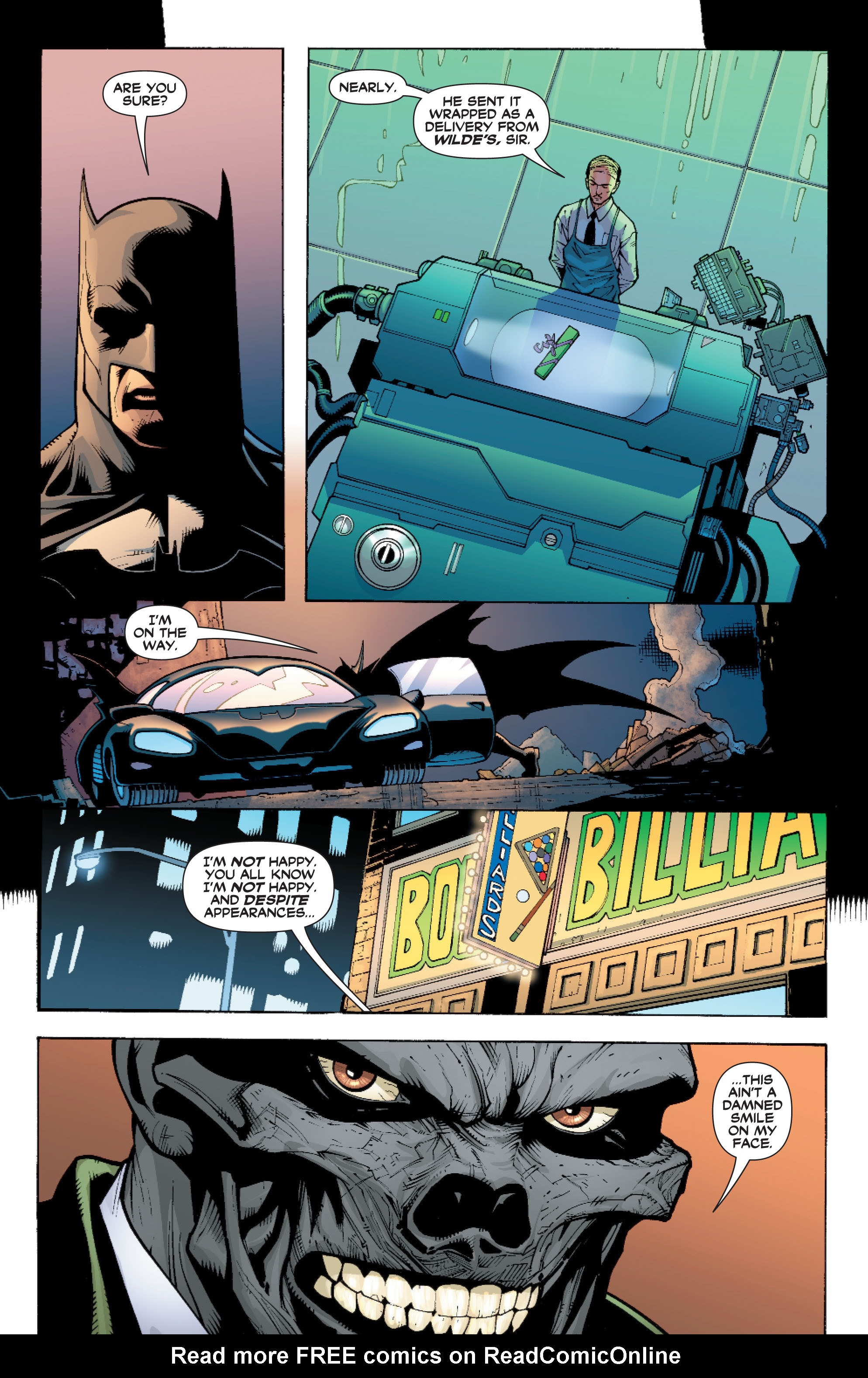 Read online Batman: Under The Red Hood comic -  Issue # Full - 251